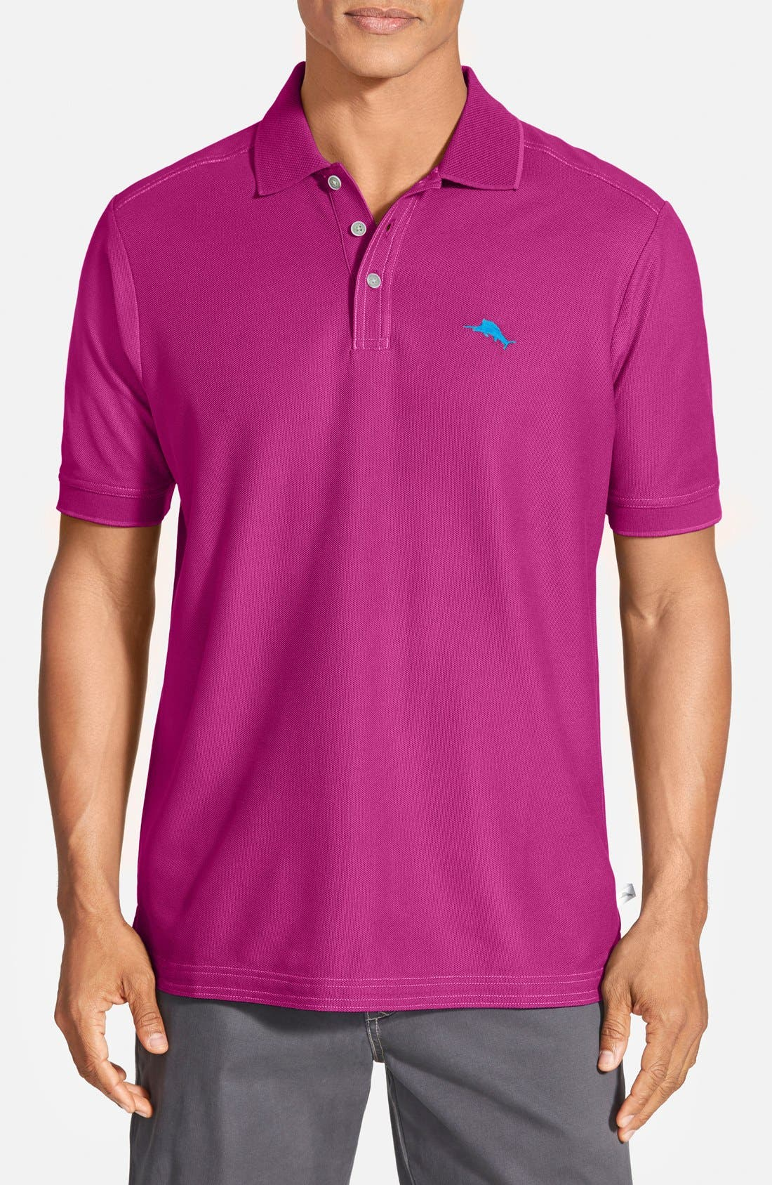 'The Emfielder' Original Fit Piqué Polo,                             Main thumbnail 90, color,