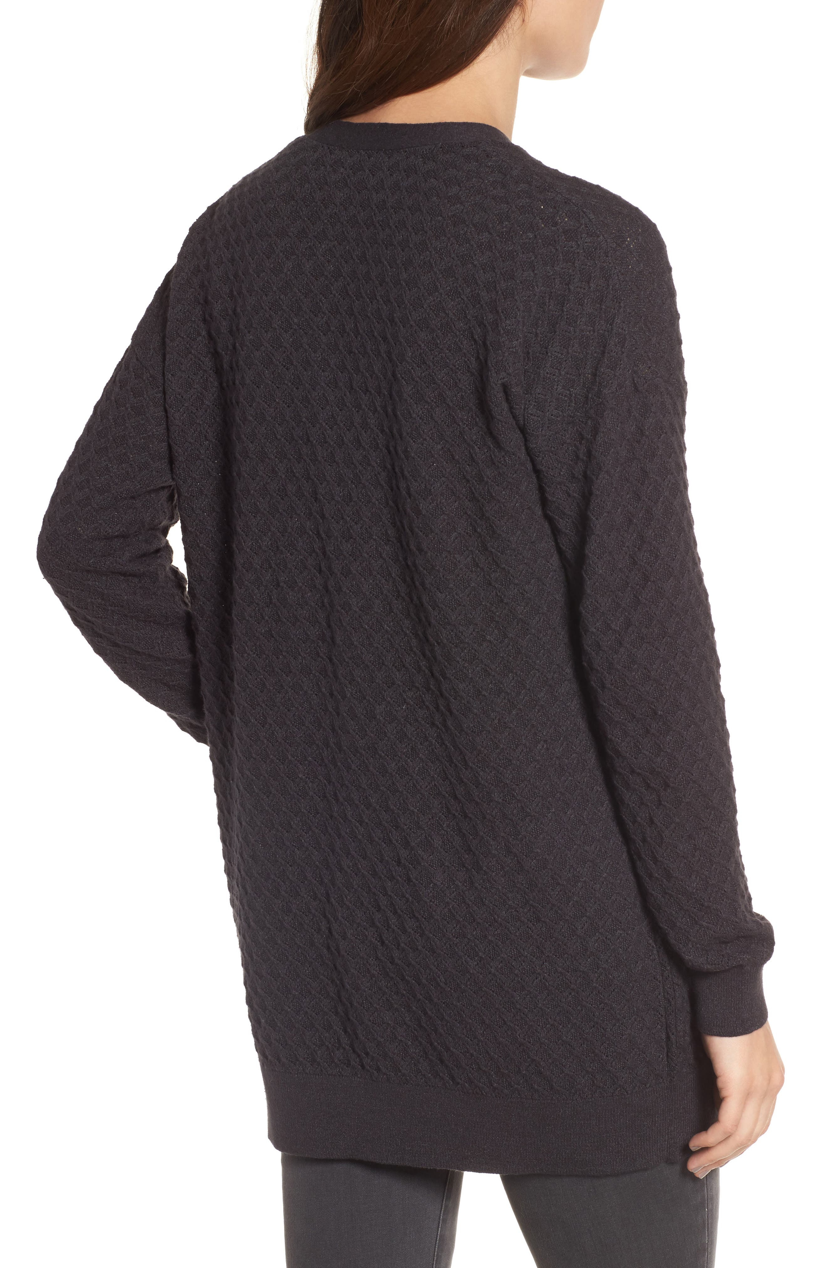 Pointelle Cardigan Sweater,                             Alternate thumbnail 5, color,