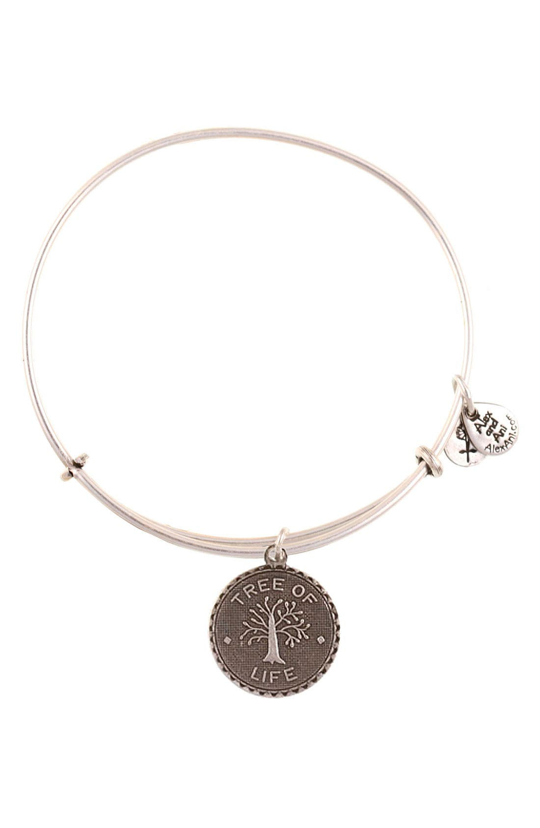 'Tree of Life' Expandable Wire Bangle,                         Main,                         color, 040