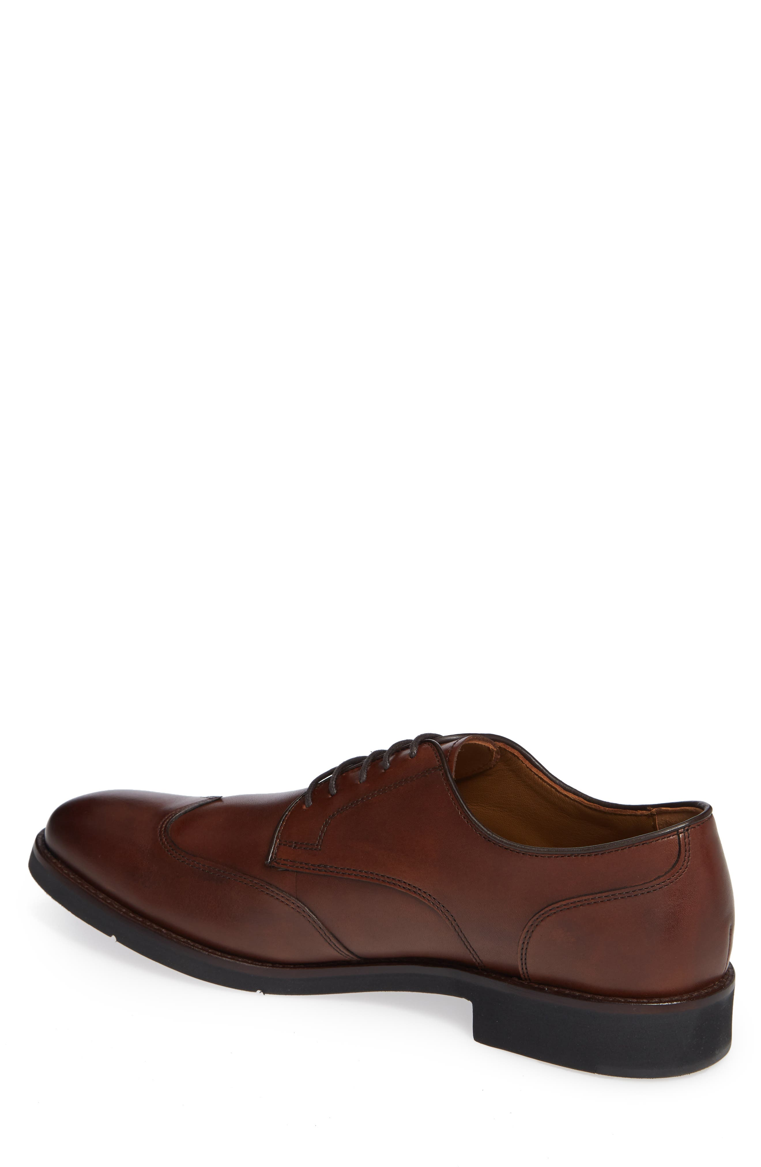 Carlson Wingtip,                             Alternate thumbnail 2, color,                             OAK LEATHER