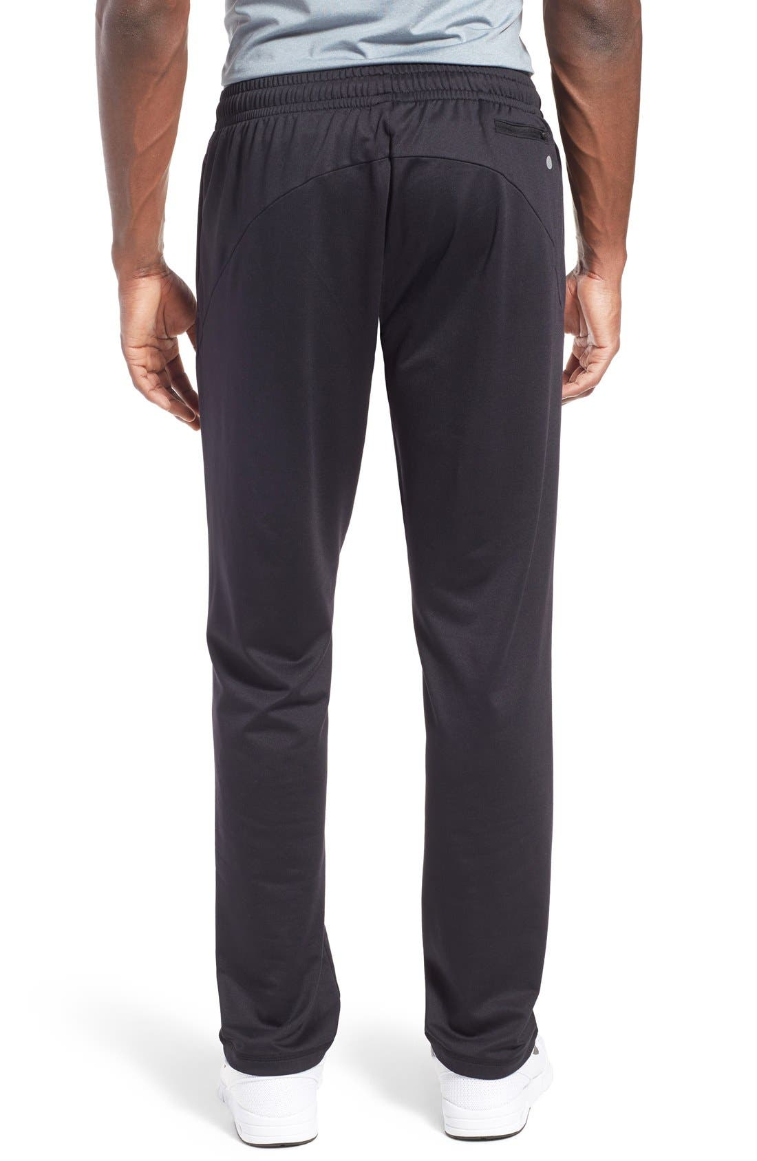 'Pyrite' Tapered Fit Knit Athletic Pants,                             Alternate thumbnail 2, color,                             001