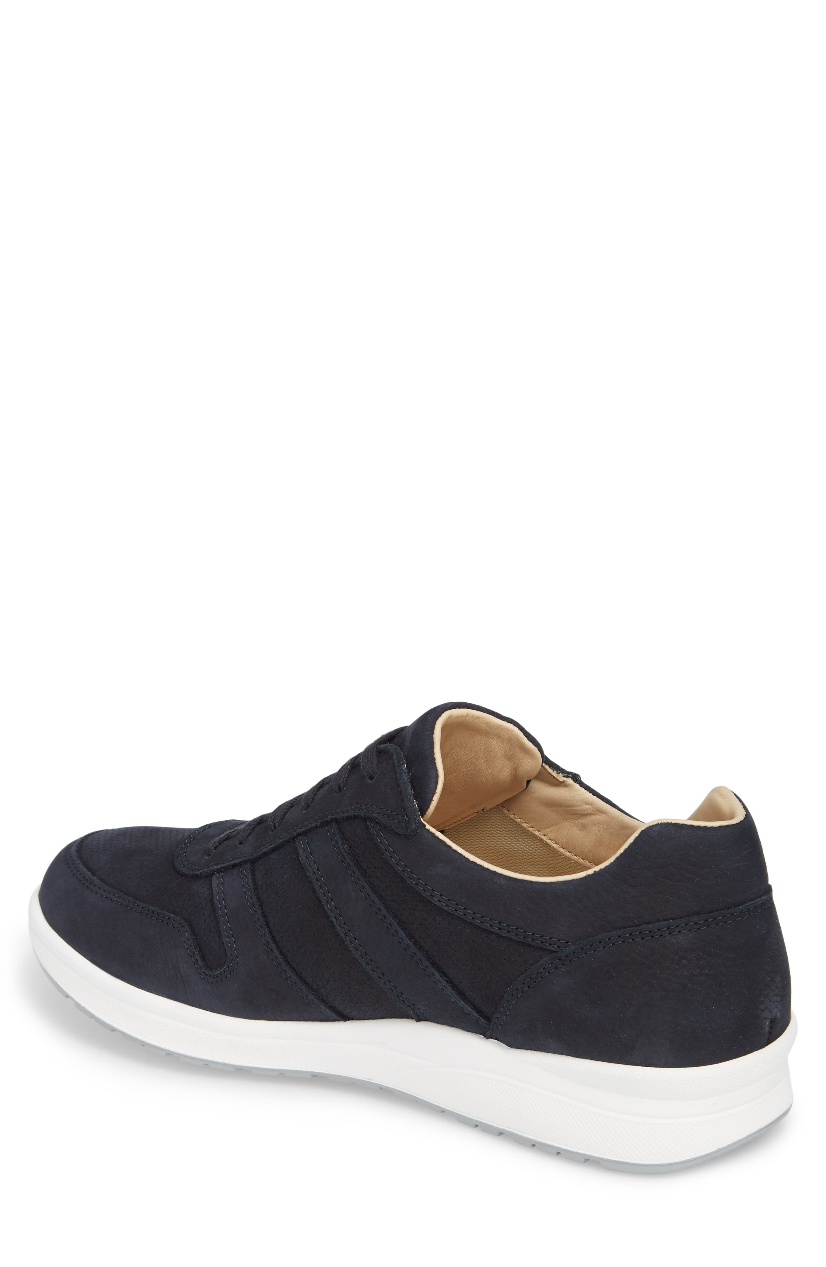 Vito Perforated Sneaker,                             Alternate thumbnail 2, color,                             NAVY
