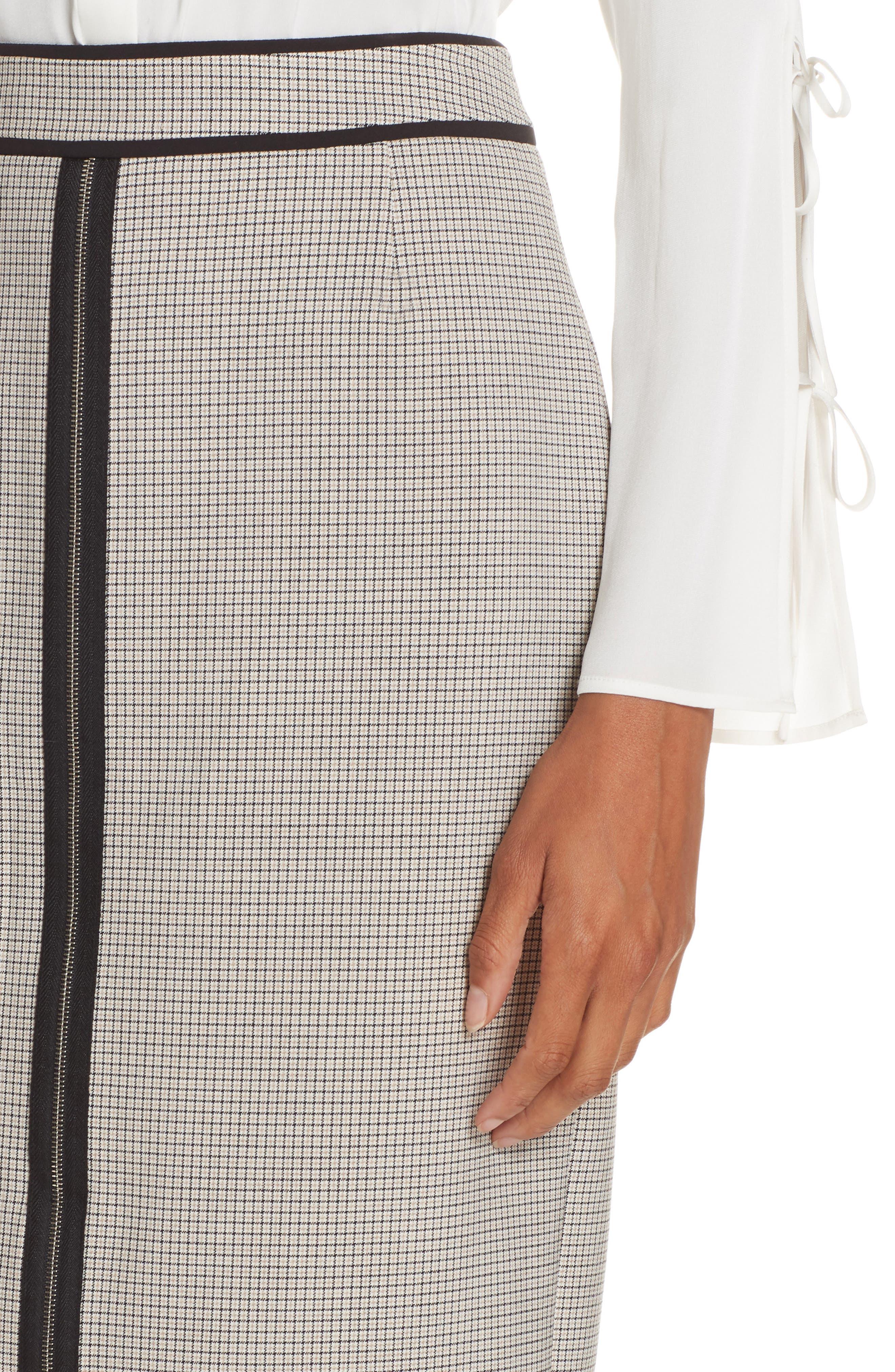 Voliviena Pencil Skirt,                             Alternate thumbnail 4, color,                             STONE FANTASTY