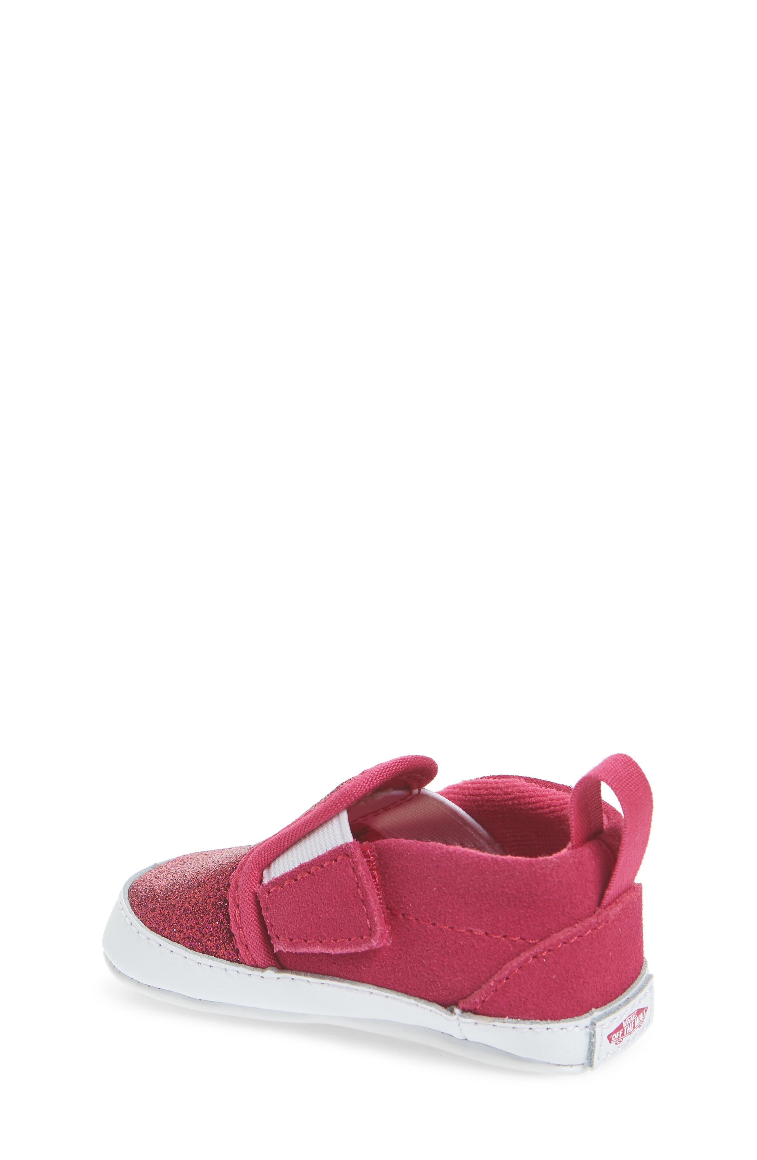 Glitter Crib Shoe,                             Alternate thumbnail 2, color,                             660