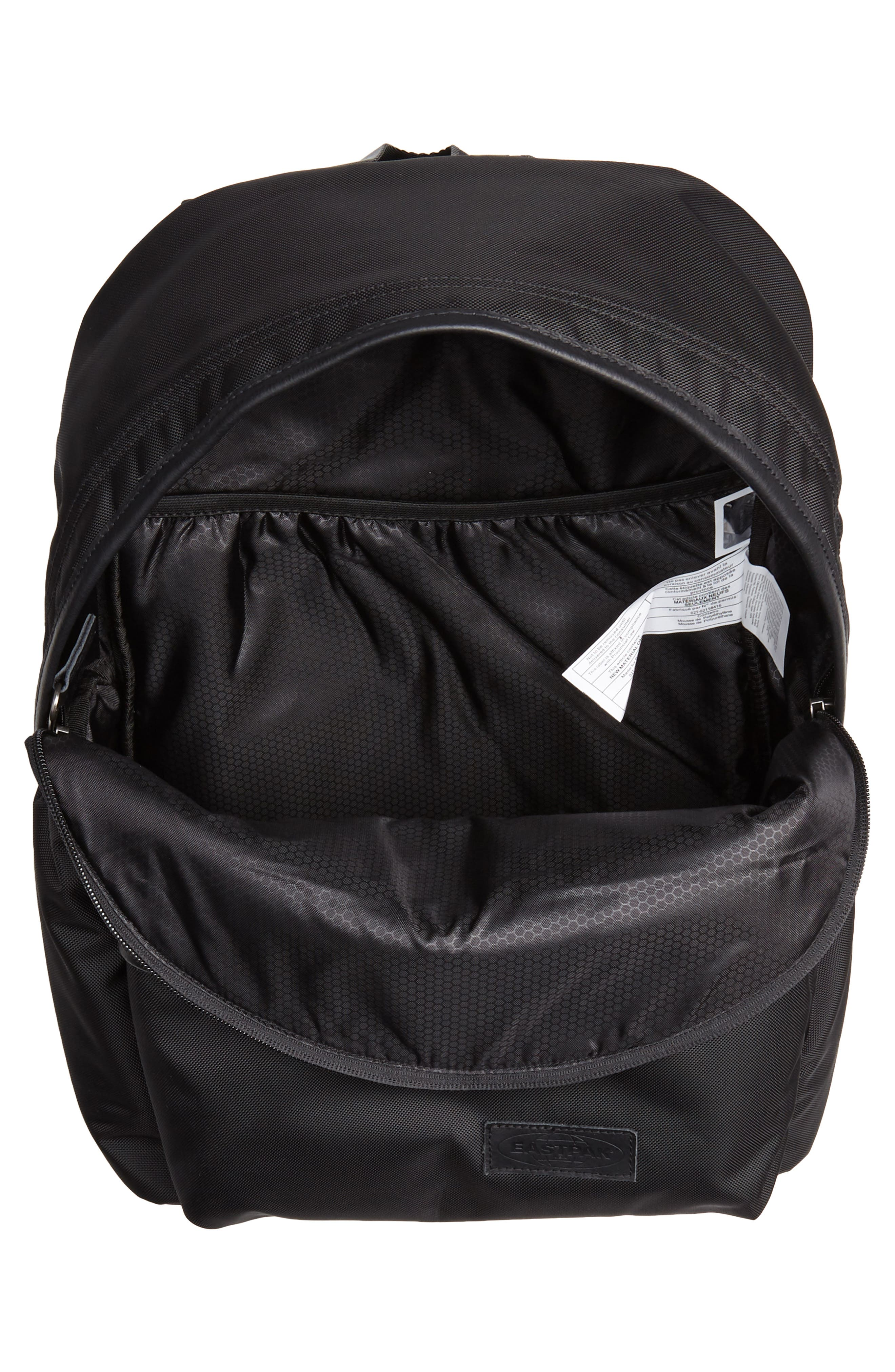 Padded Pakr Backpack,                             Alternate thumbnail 4, color,                             CONSTRUCTED BLACK