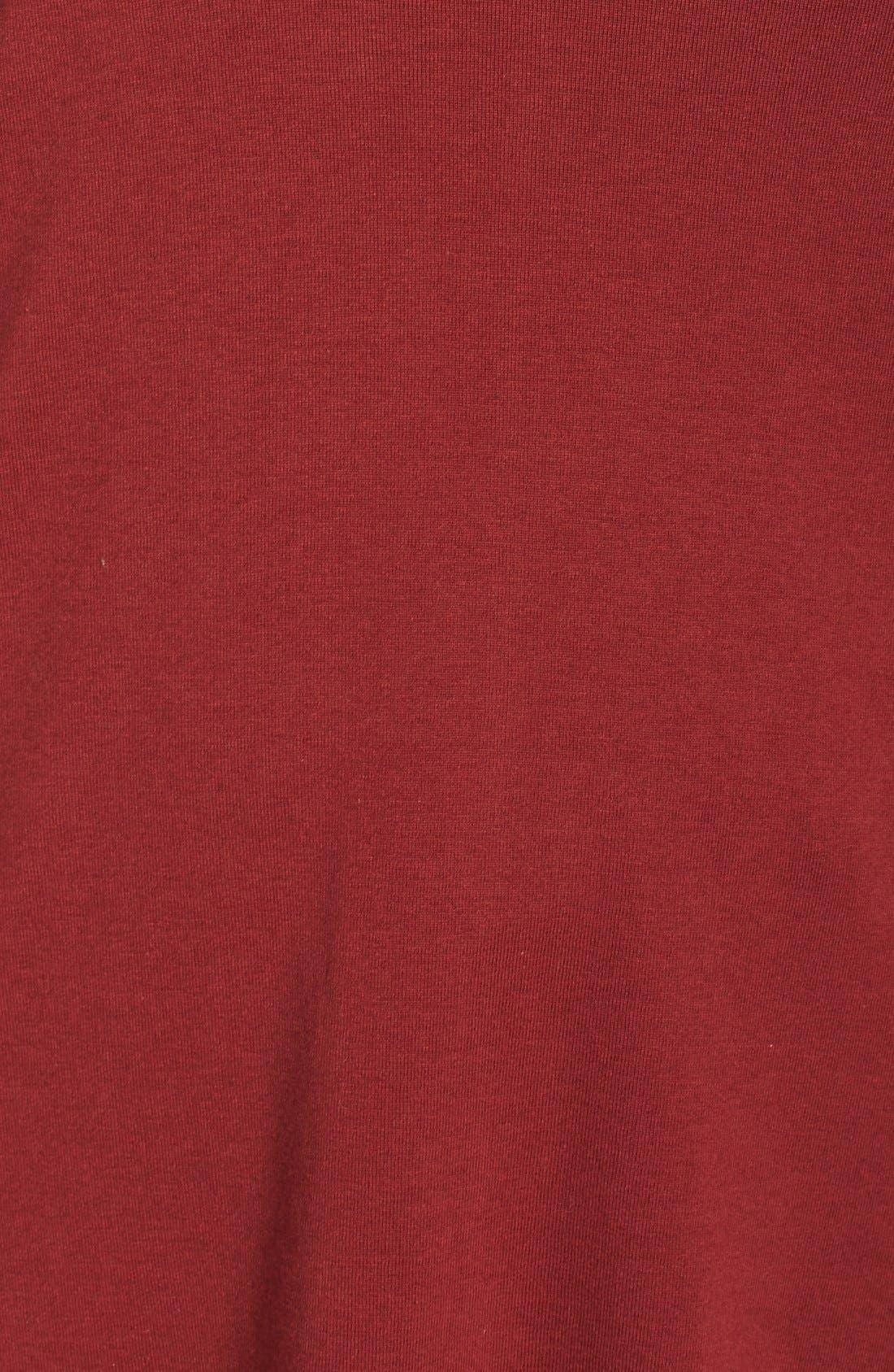 Short Sleeve V-Neck Tee,                             Alternate thumbnail 161, color,
