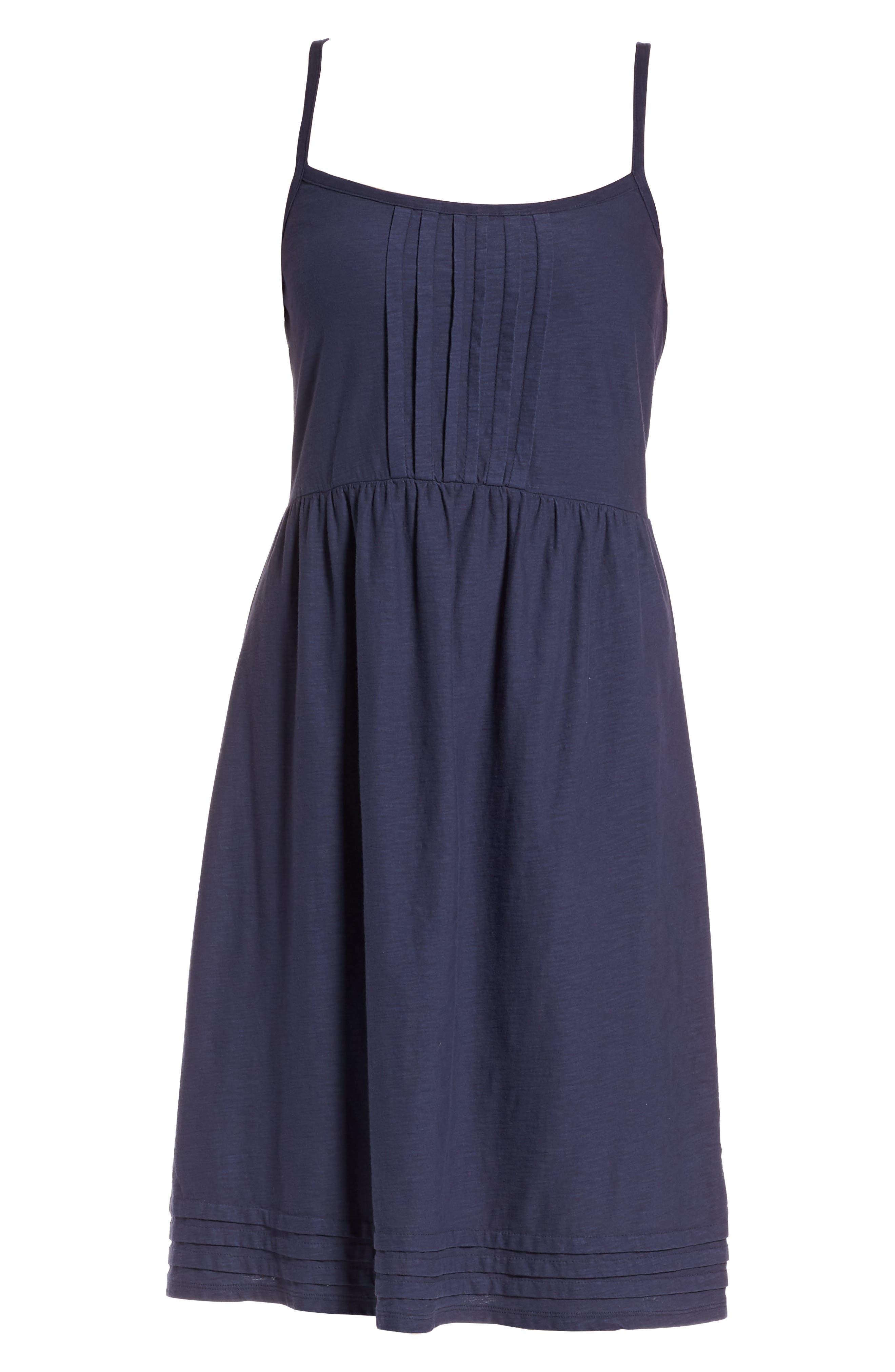 Arden Pleat Jersey Sundress,                             Alternate thumbnail 6, color,                             400