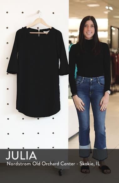 'Jazlyn' Crepe Shift Dress, sales video thumbnail