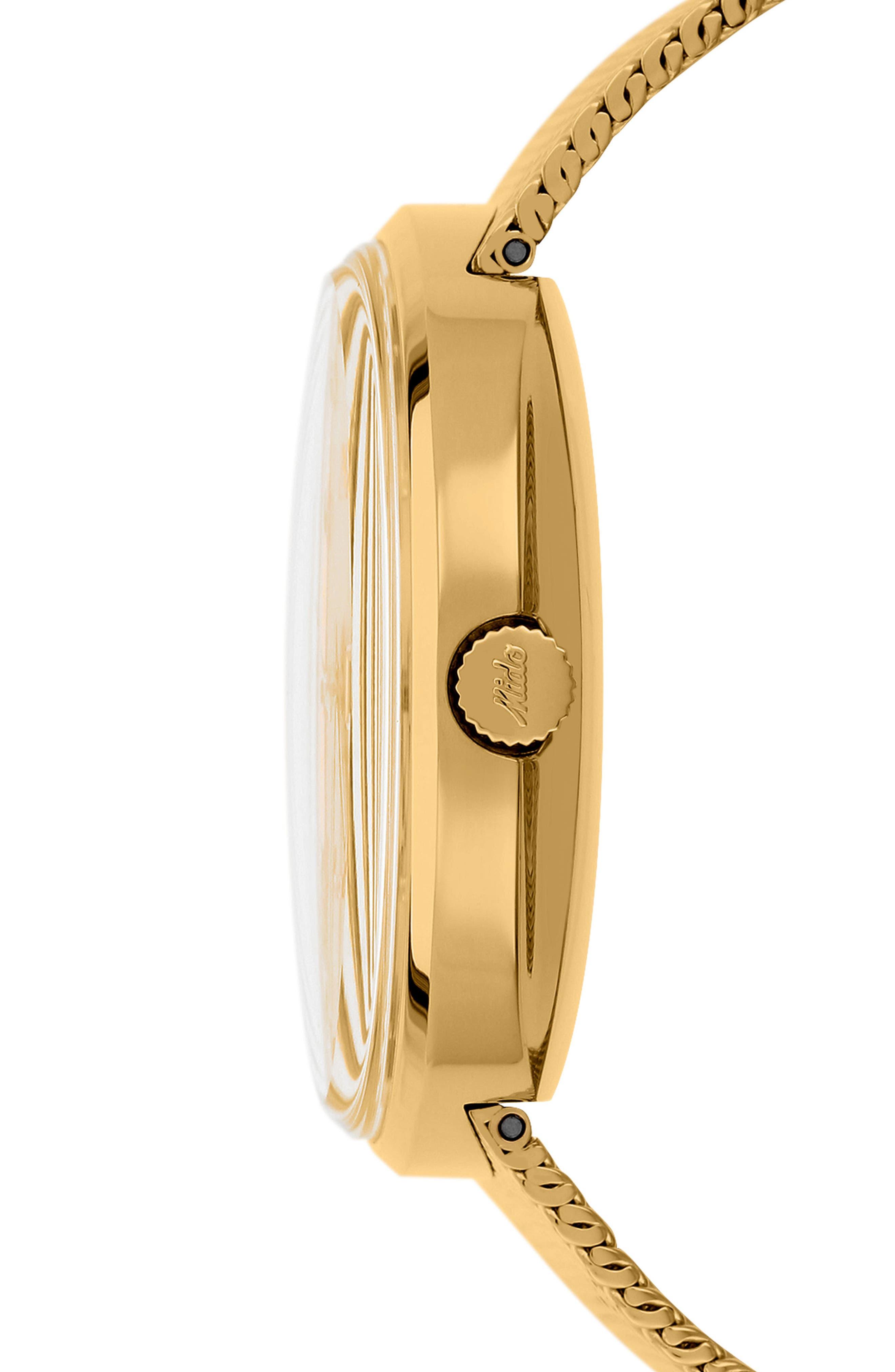 Commander Automatic Mesh Strap Watch, 37mm,                         Main,                         color, 710