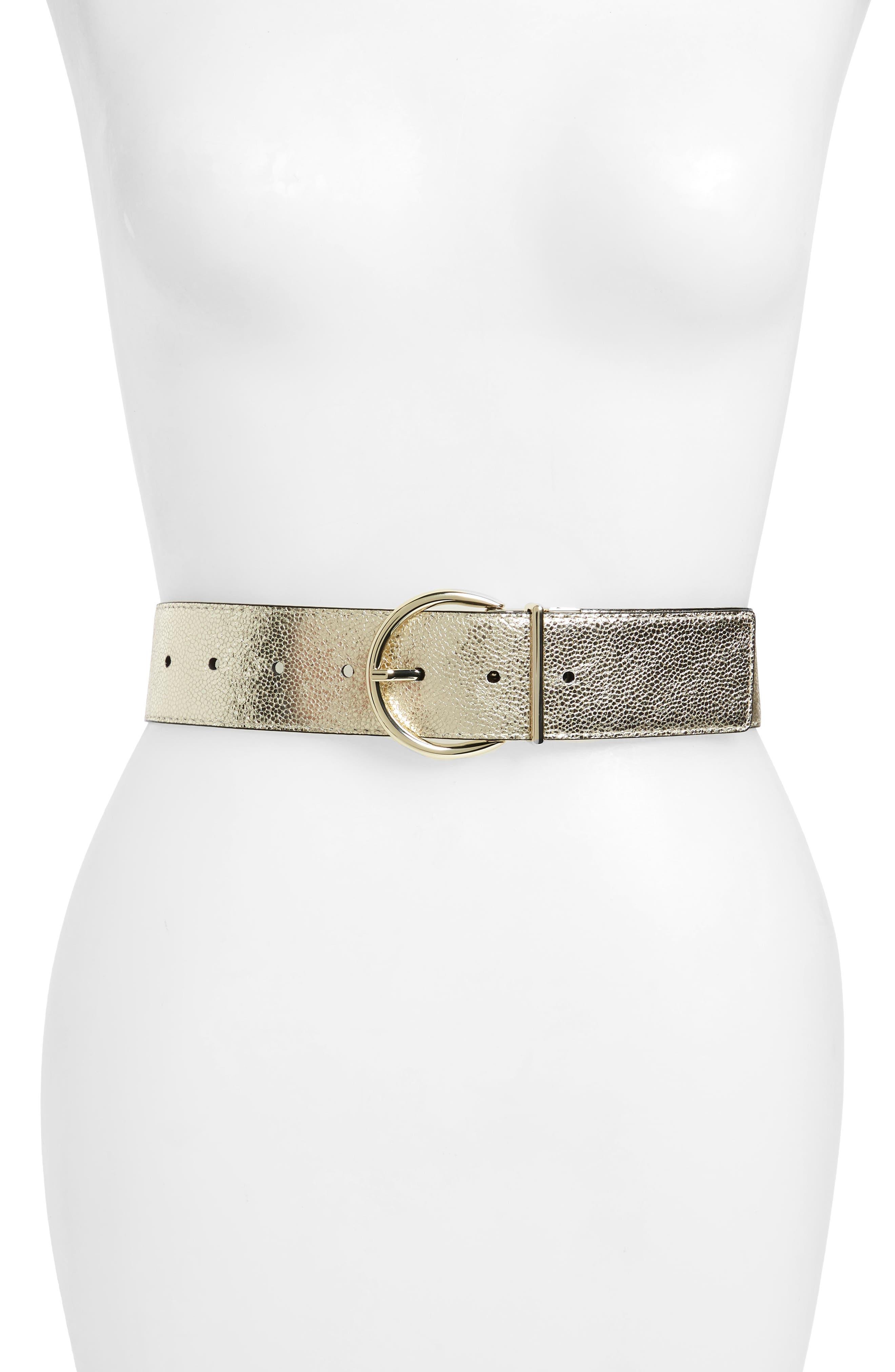 reversible sparkle leather belt,                             Alternate thumbnail 3, color,                             710