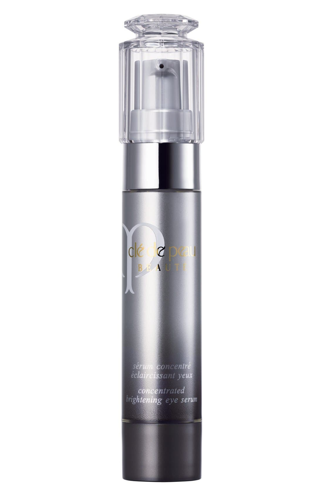 CLÉ DE PEAU BEAUTÉ,                             Concentrated Brightening Eye Serum,                             Main thumbnail 1, color,                             NO COLOR