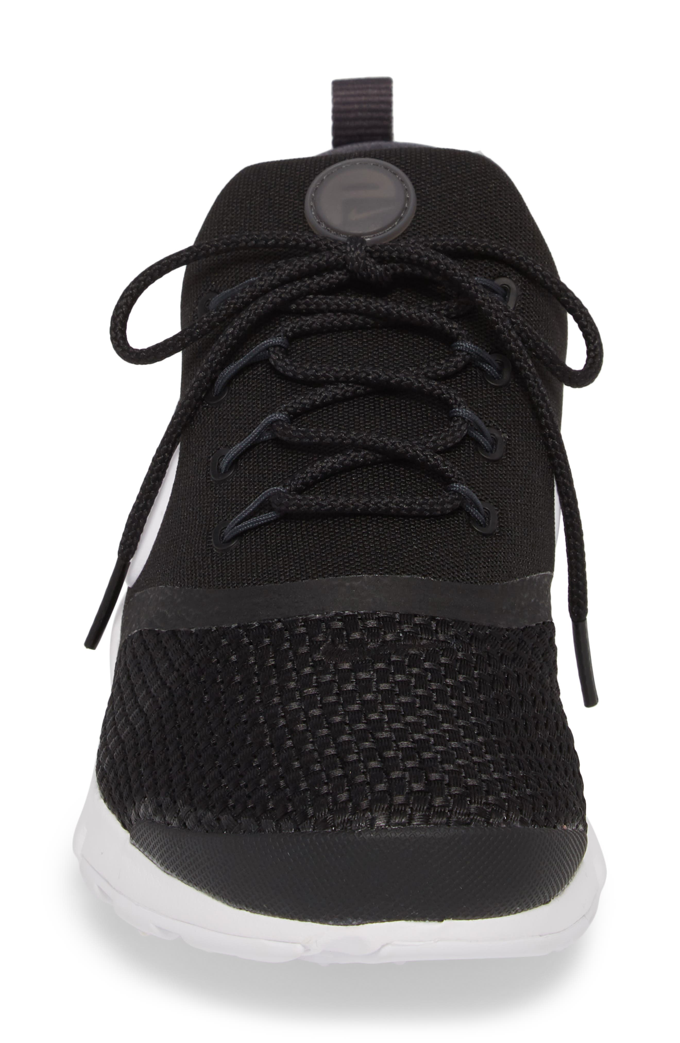 Presto Fly Sneaker,                             Alternate thumbnail 4, color,                             BLACK/ WHITE/ ANTHRACITE