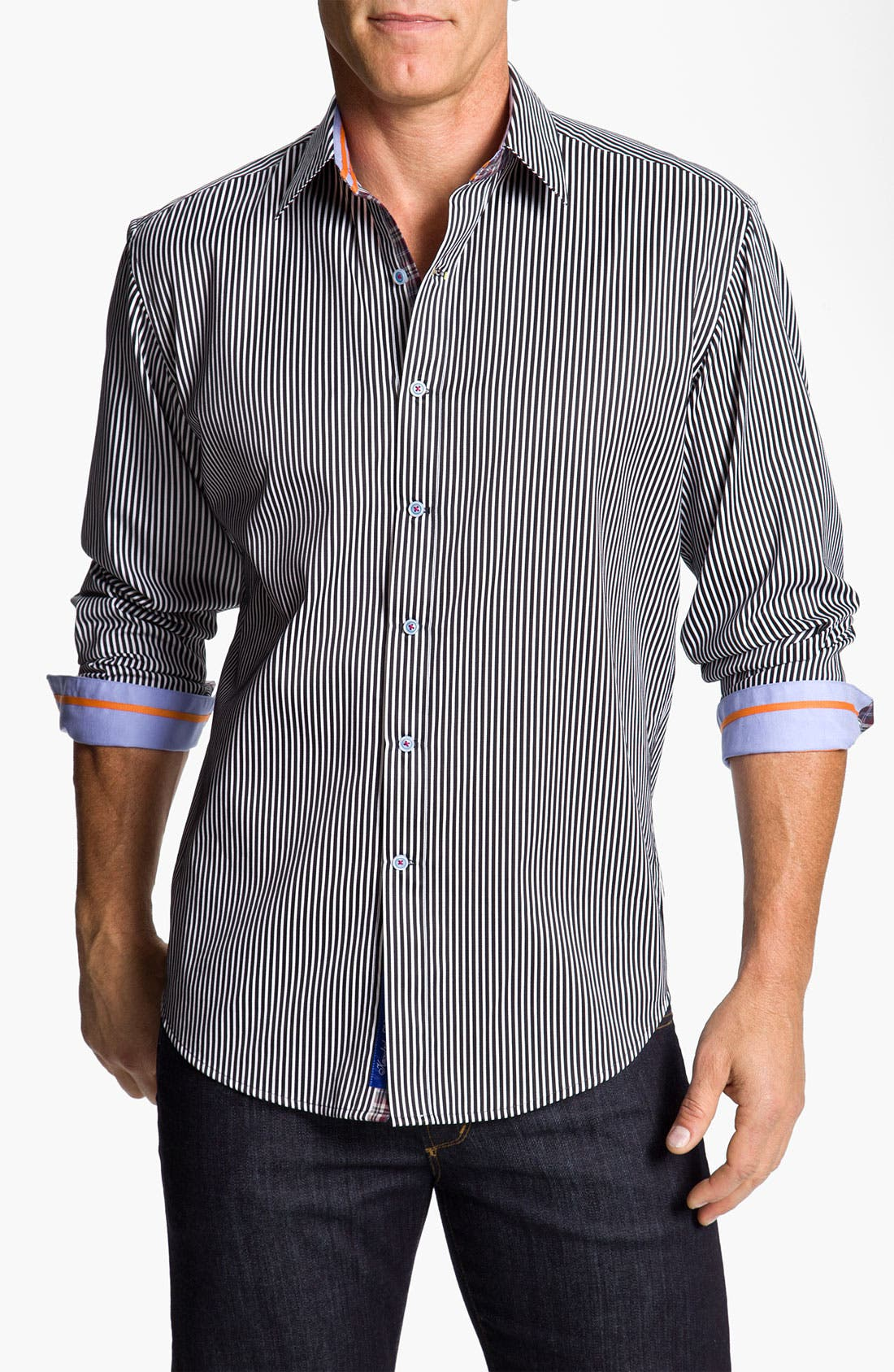 'X Collection - Two-Fer' Sport Shirt, Main, color, 001