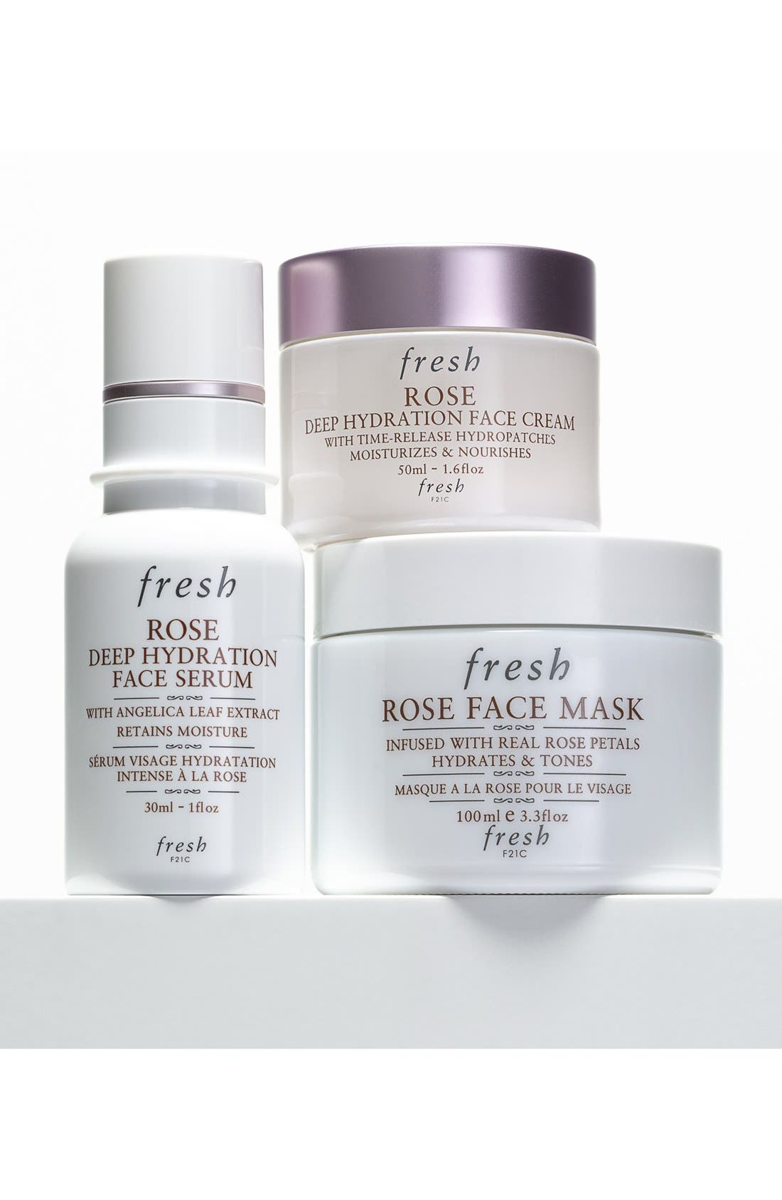 Rose Face Mask<sup>®</sup>,                             Alternate thumbnail 6, color,                             NO COLOR
