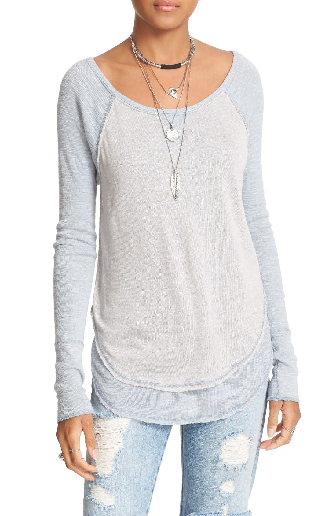 We the Free by Free People Friday Feelin Tee,                             Alternate thumbnail 26, color,