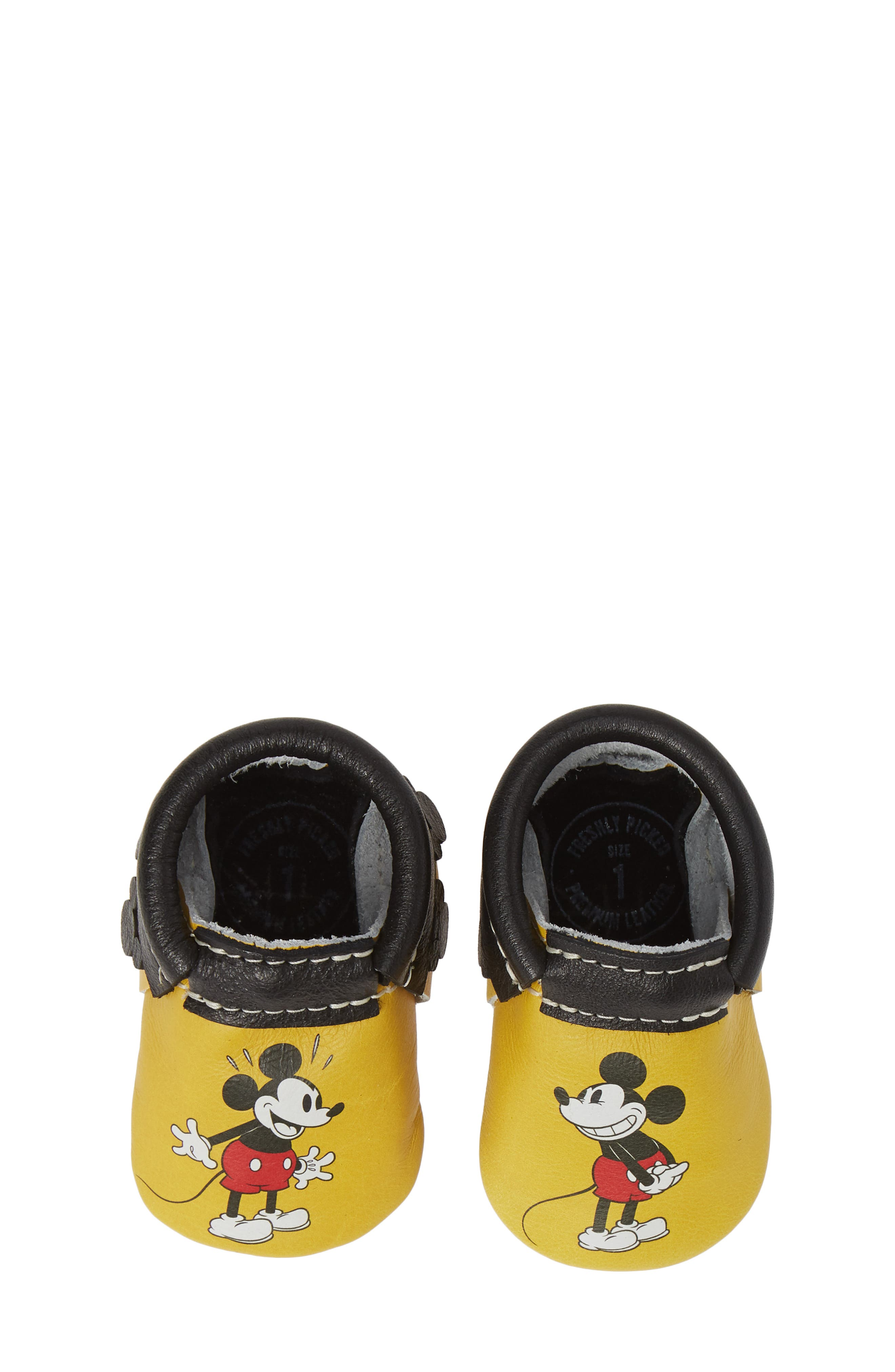 FRESHLY PICKED,                             x Disney Mickey Bootie,                             Alternate thumbnail 5, color,                             MICKEY FRINGE