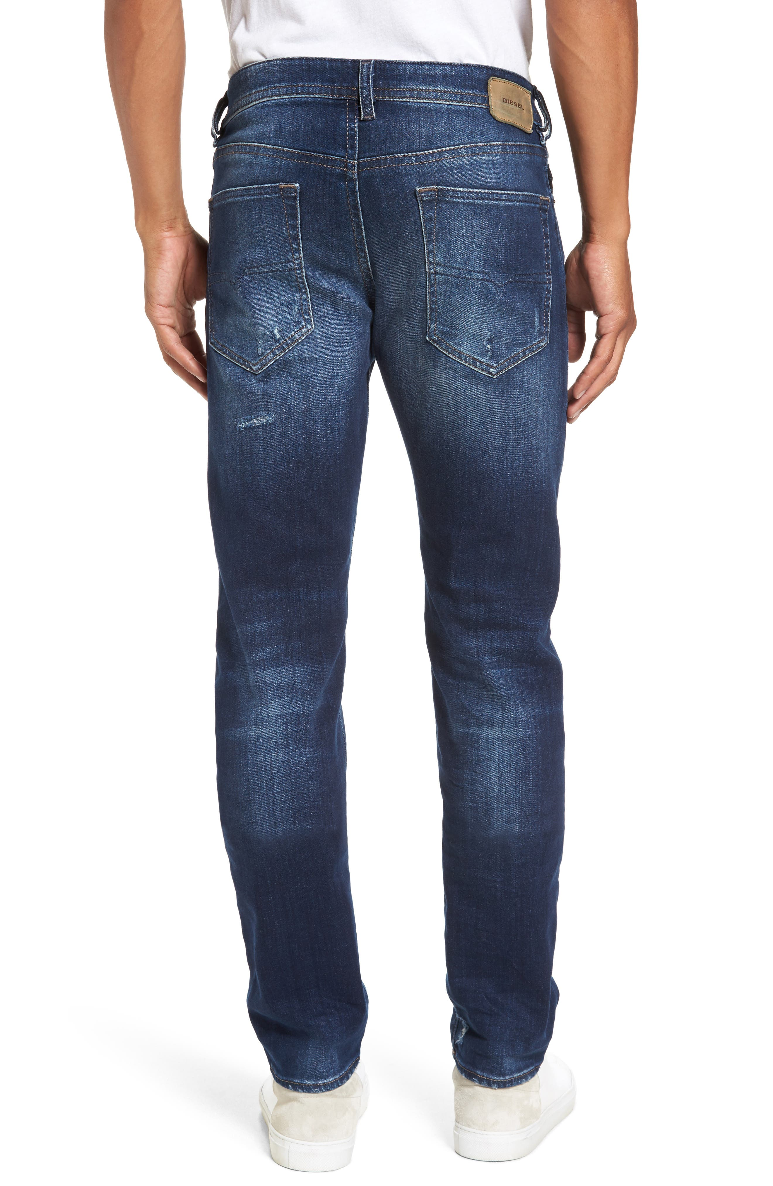 Buster Slim Straight Leg Jeans,                             Alternate thumbnail 2, color,                             900