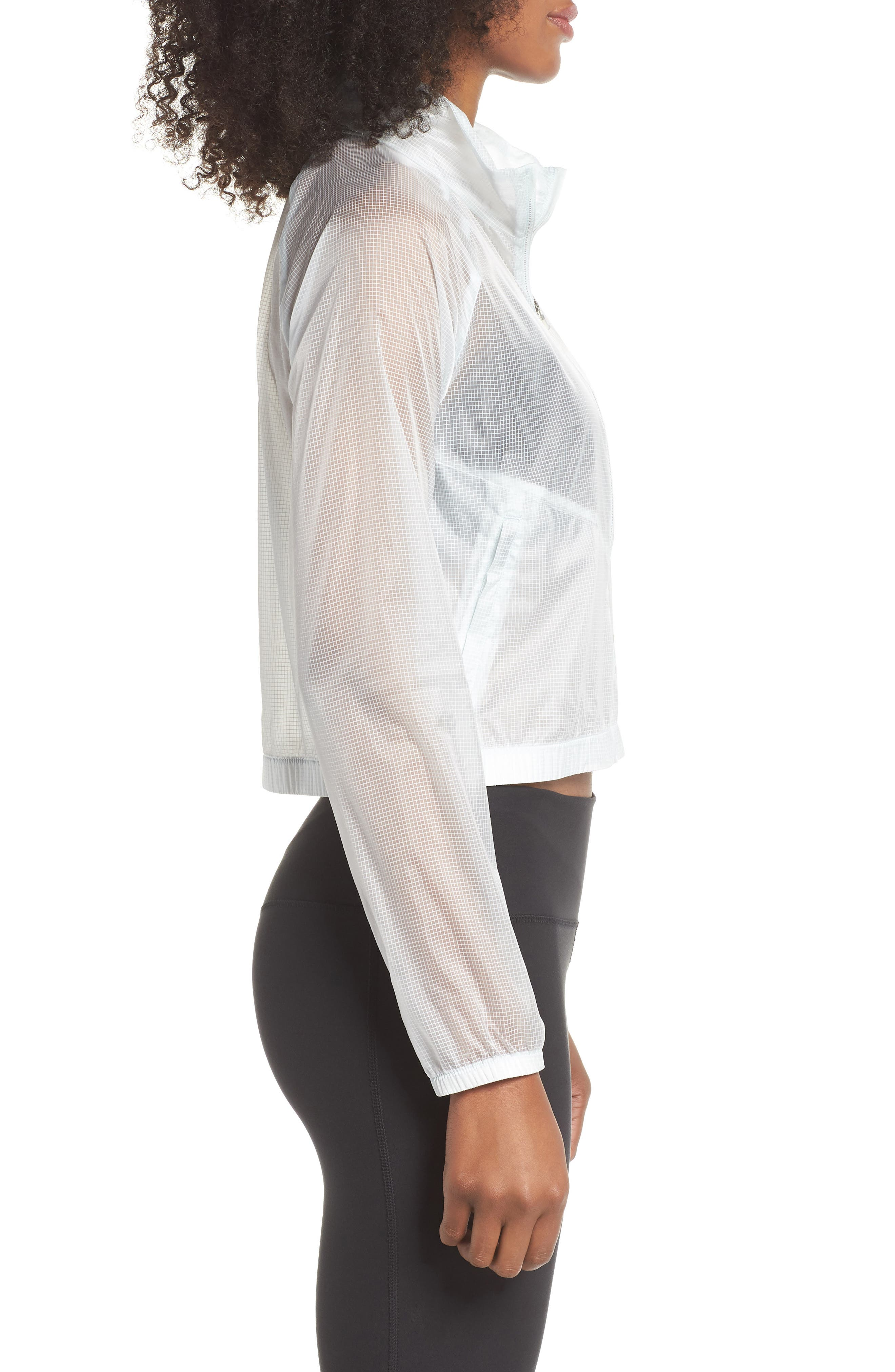 Transparent Running Jacket,                             Alternate thumbnail 3, color,                             026