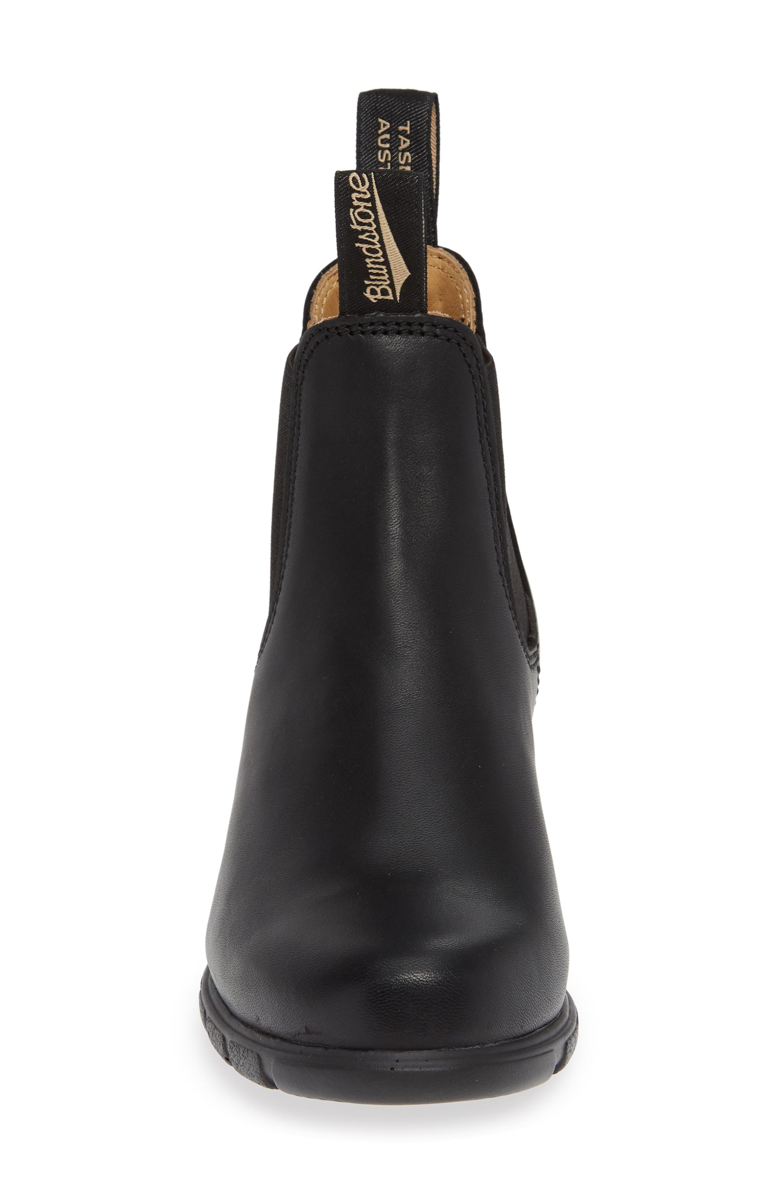 1671 Chelsea Boot,                             Alternate thumbnail 4, color,                             BLACK LEATHER