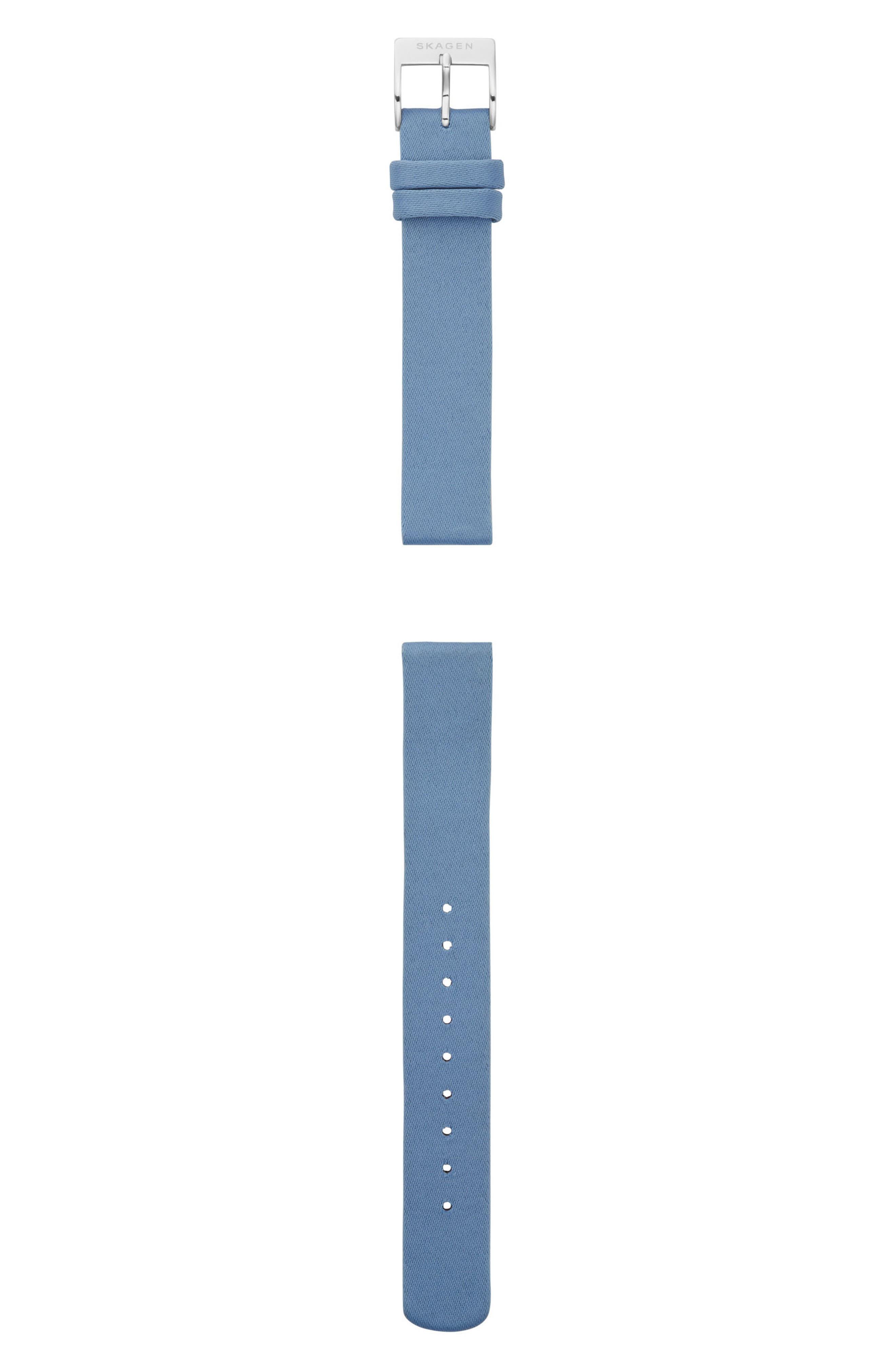 Satin Watch Strap, 14mm,                             Main thumbnail 1, color,