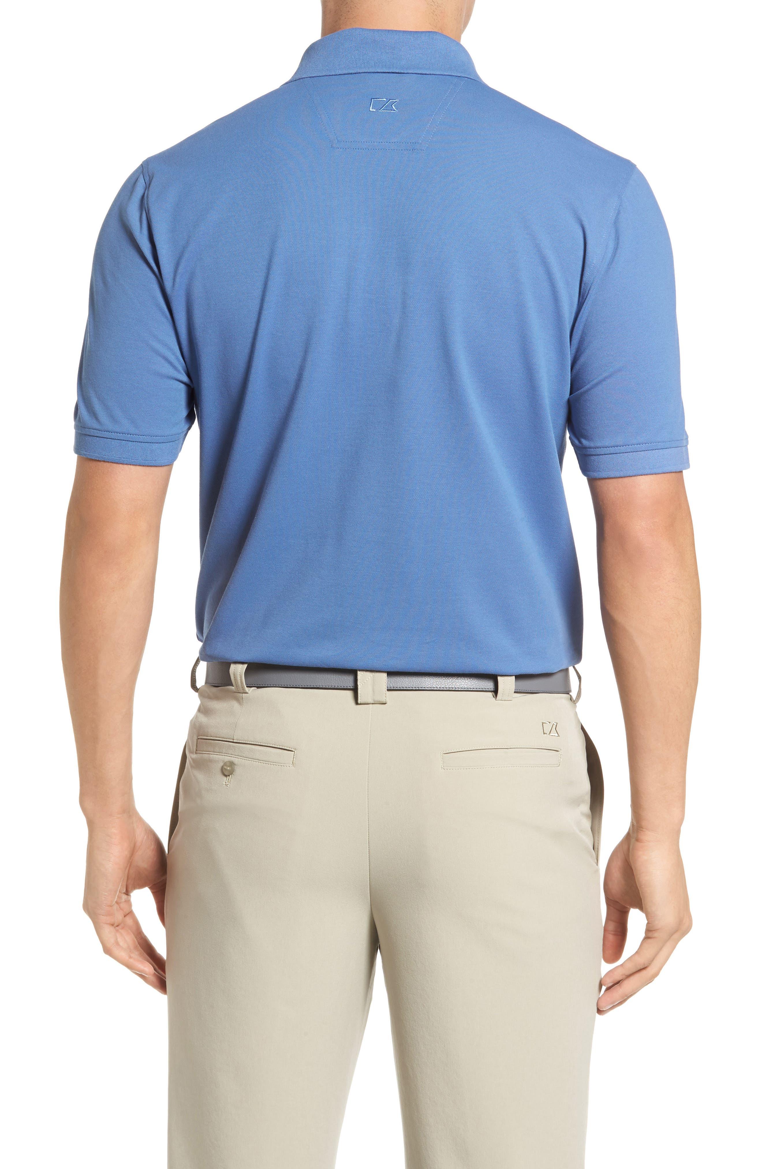 Advantage Golf Polo,                             Alternate thumbnail 2, color,                             SEA BLUE
