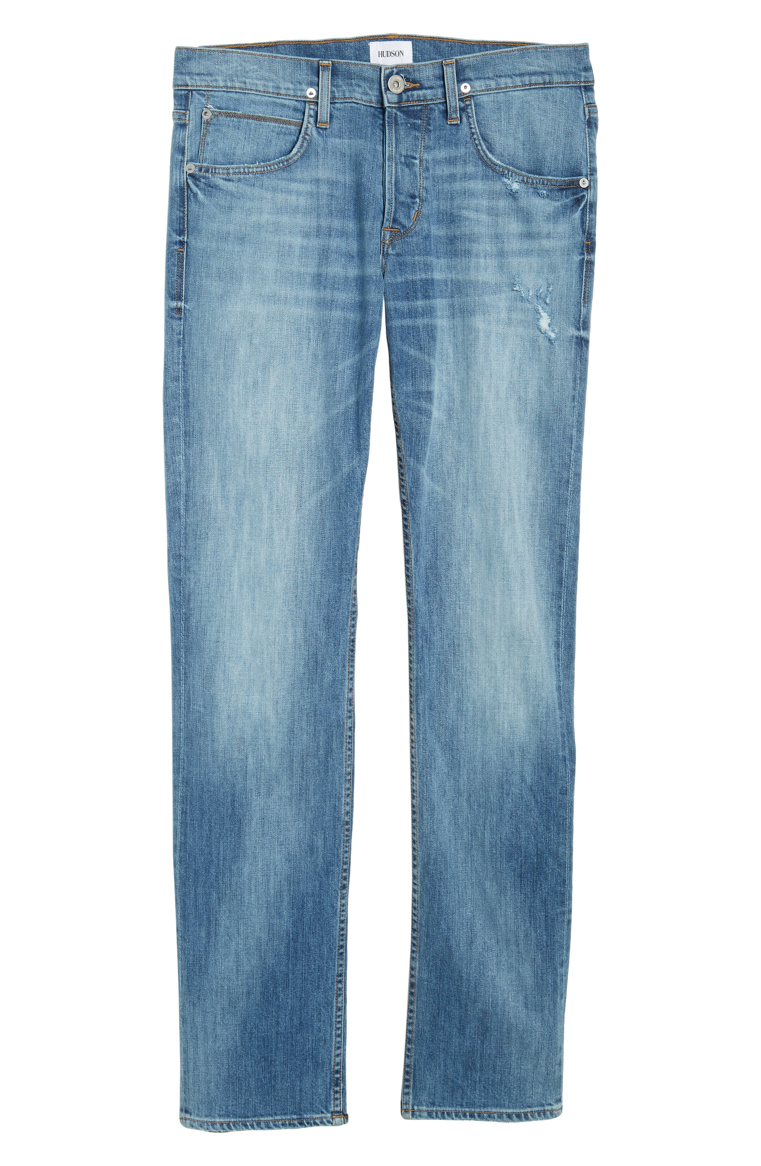 Byron Slim Straight Fit Jeans,                             Alternate thumbnail 6, color,                             425
