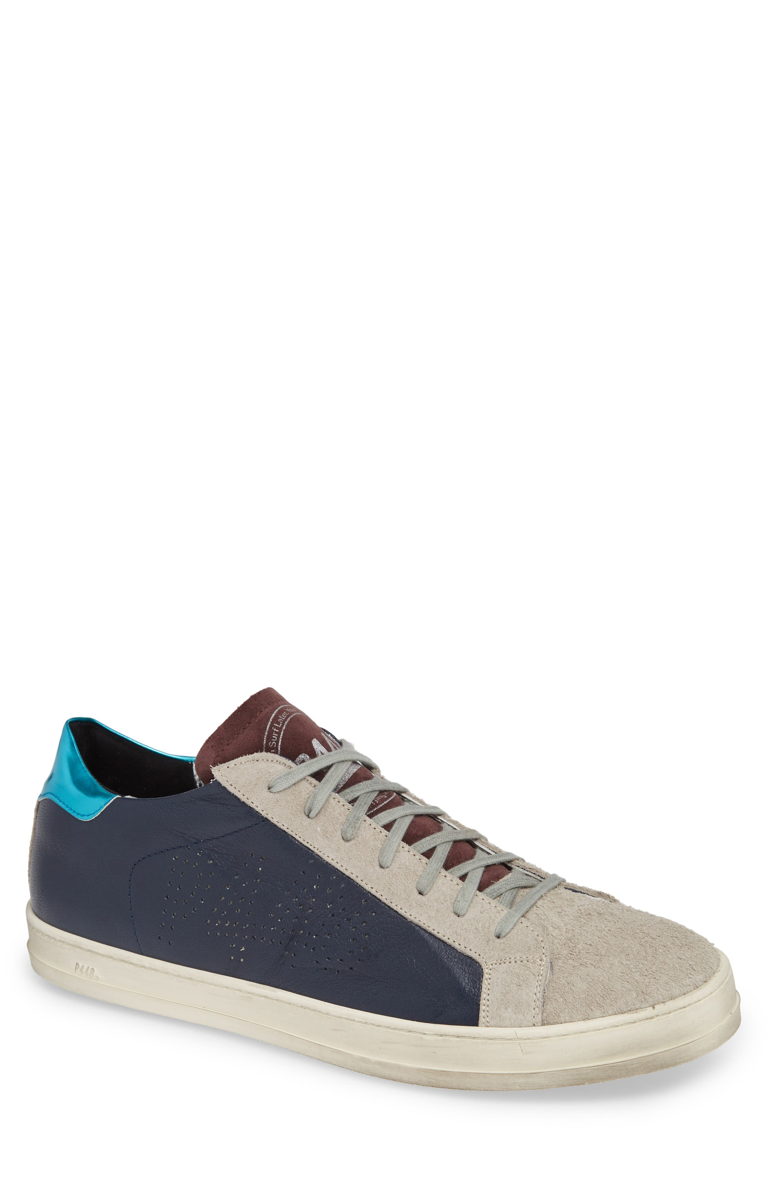 A8 John Sneaker,                         Main,                         color, NAVY