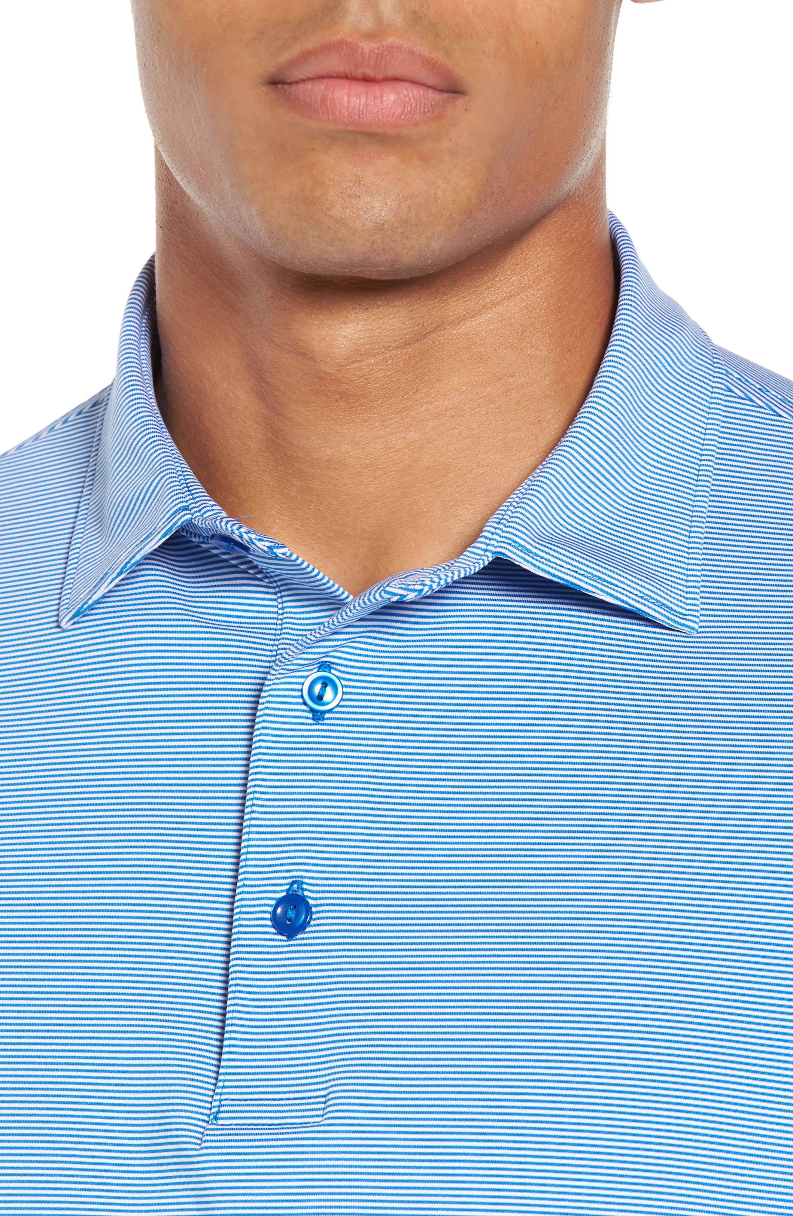 Sean Jubilee Stripe Jersey Polo,                             Alternate thumbnail 18, color,