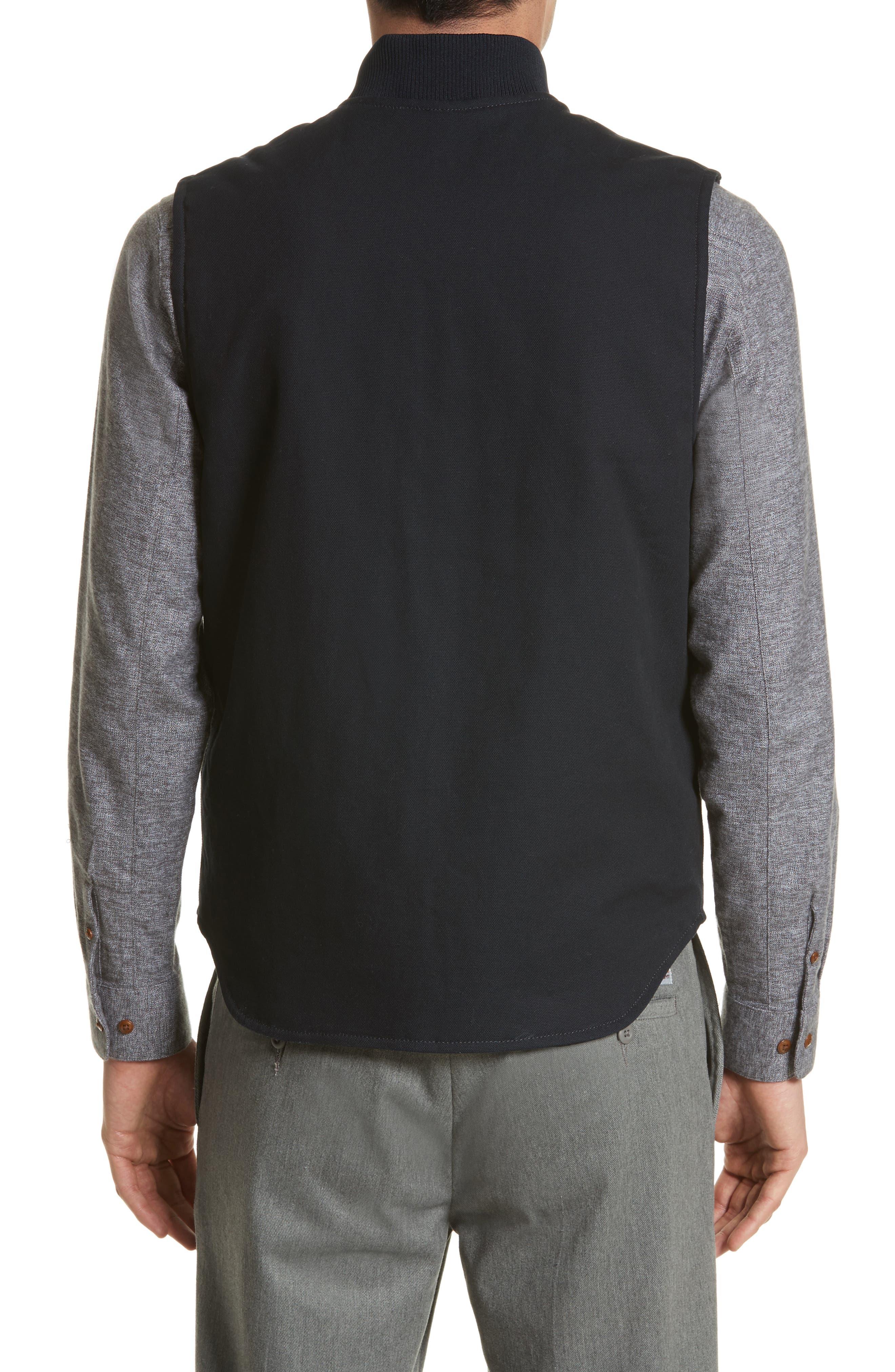 Canvas Vest,                             Alternate thumbnail 3, color,