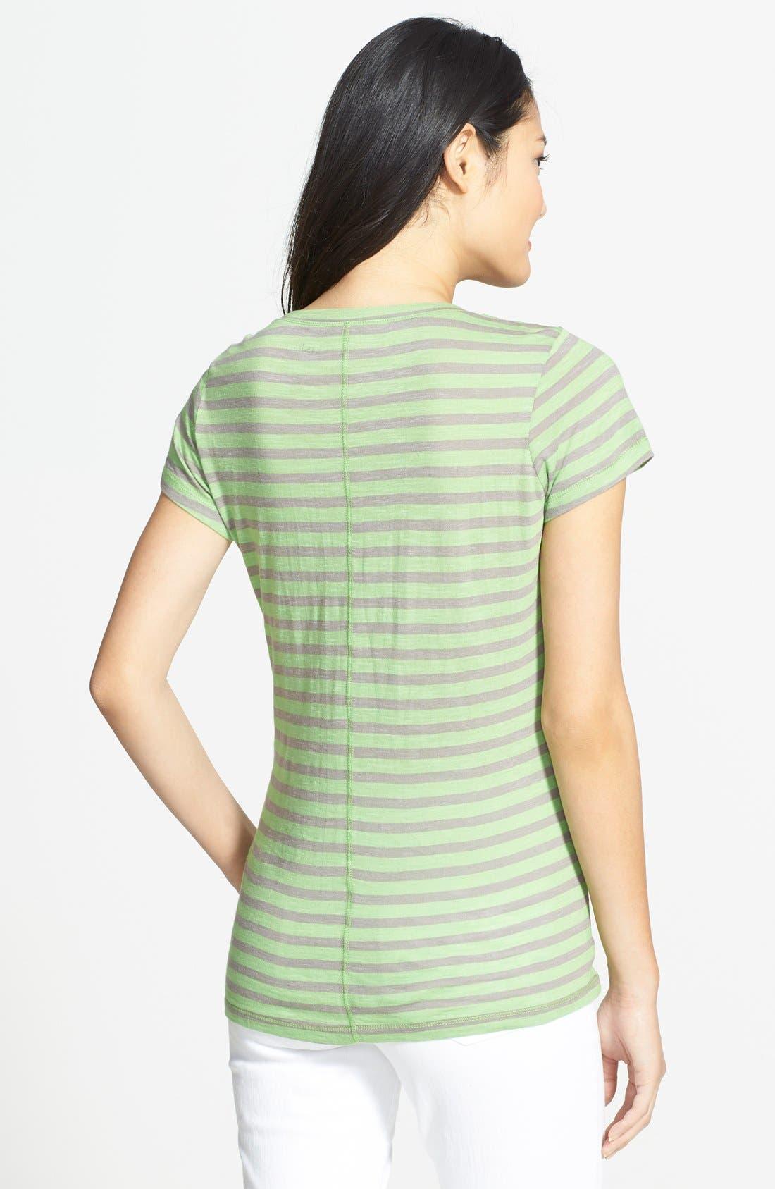 Short Sleeve Cotton & Modal Tee,                             Alternate thumbnail 33, color,