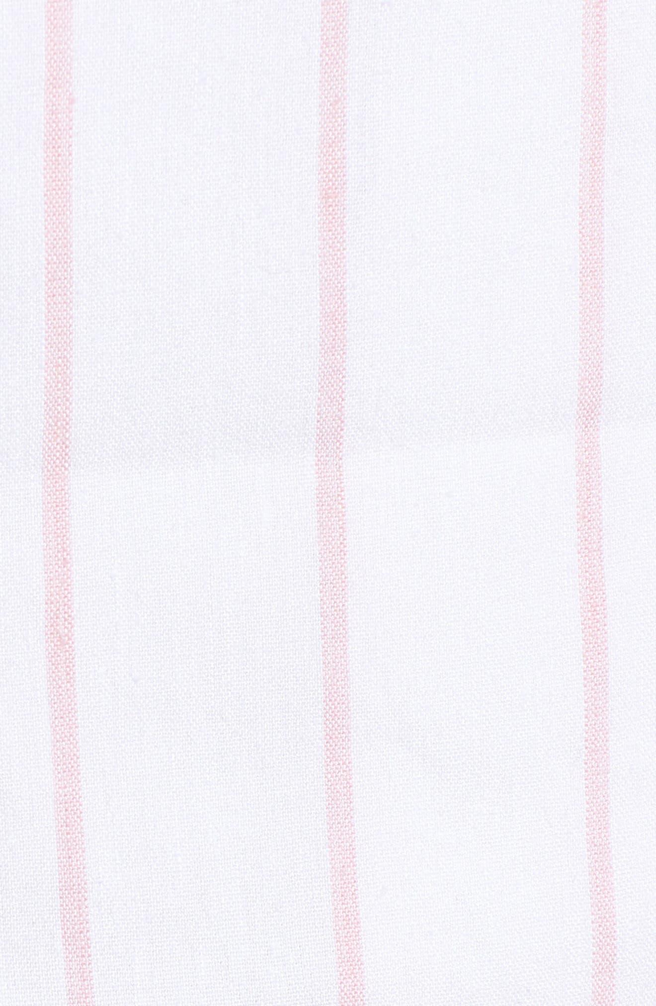 High Waist Linen Blend Shorts,                             Alternate thumbnail 22, color,