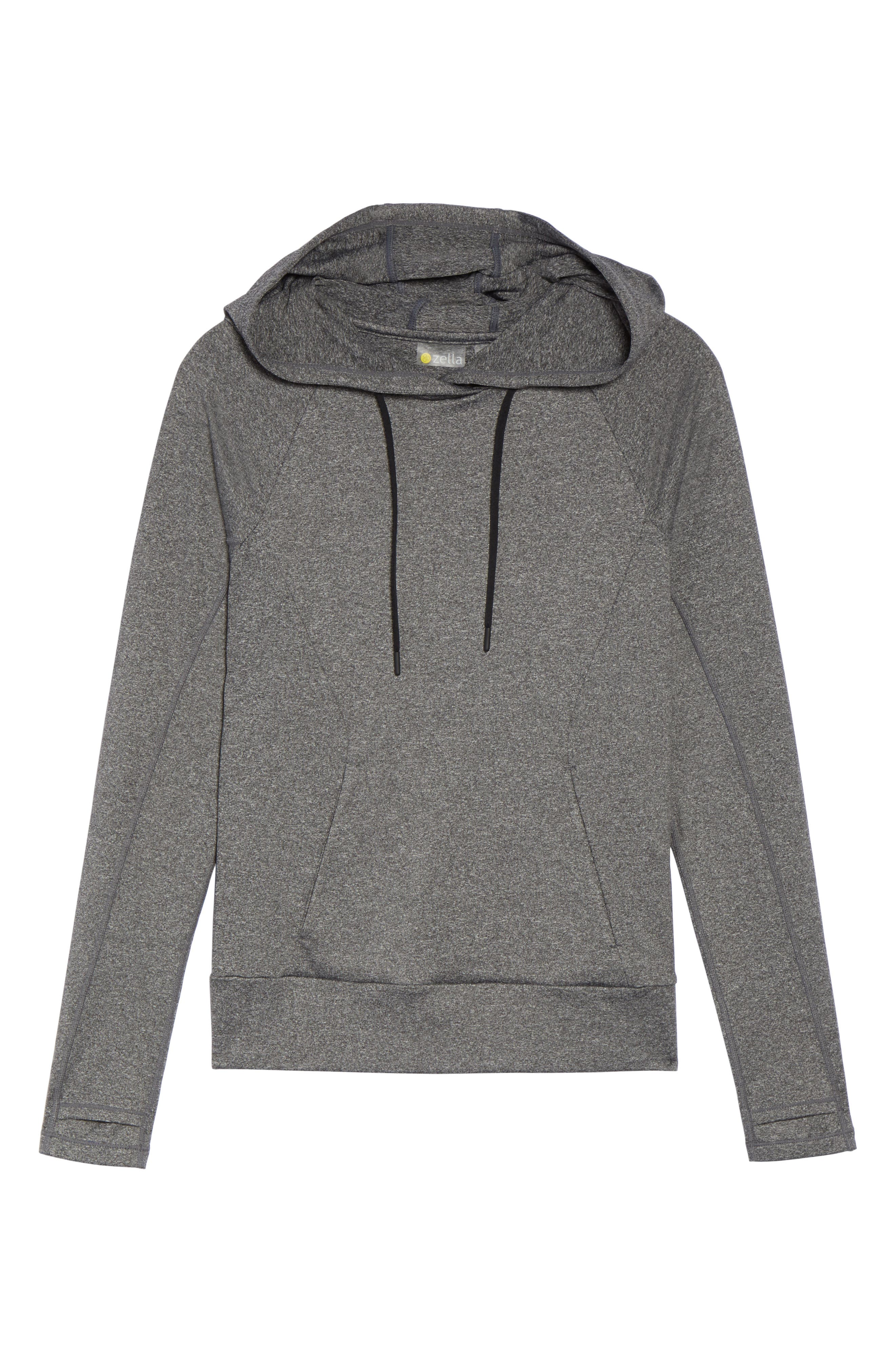 Like a Girl Hoodie,                             Alternate thumbnail 7, color,                             021
