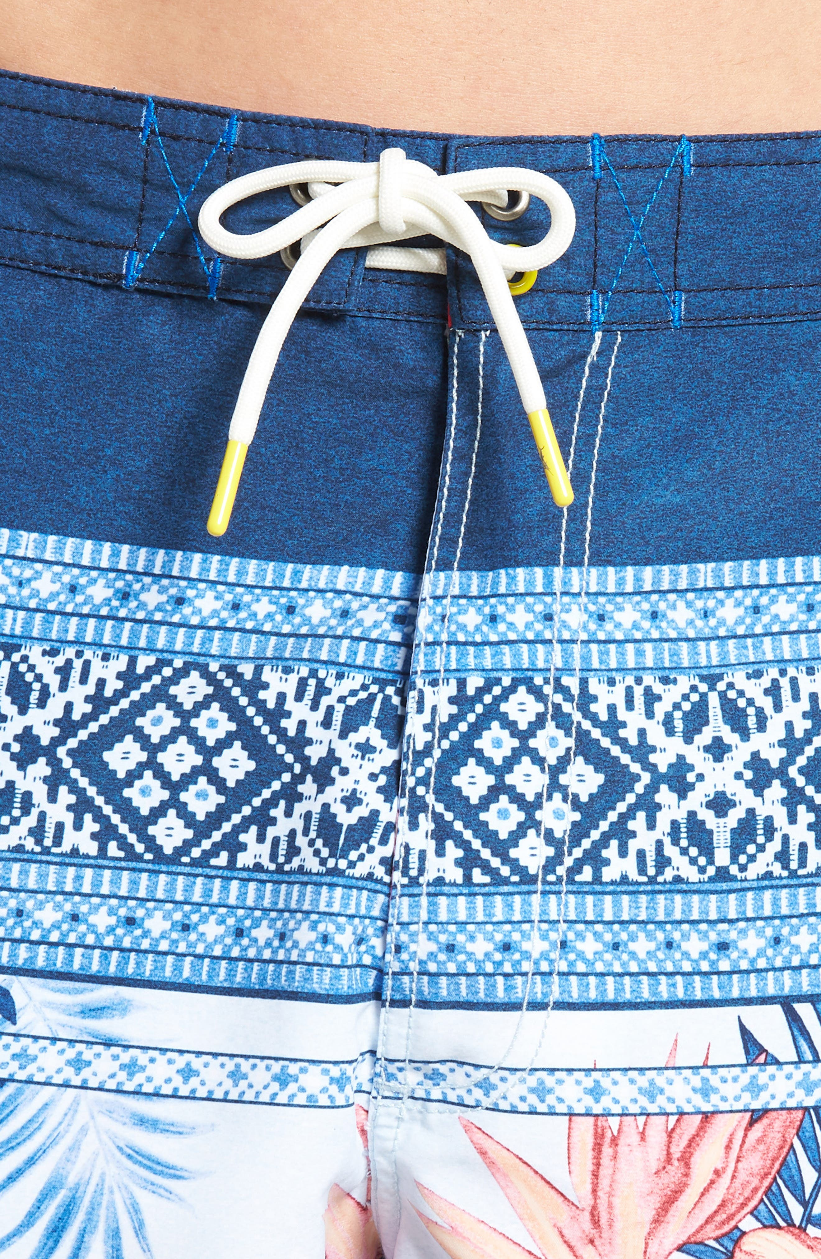 Baja Casa Rosa Board Shorts,                             Alternate thumbnail 4, color,                             401