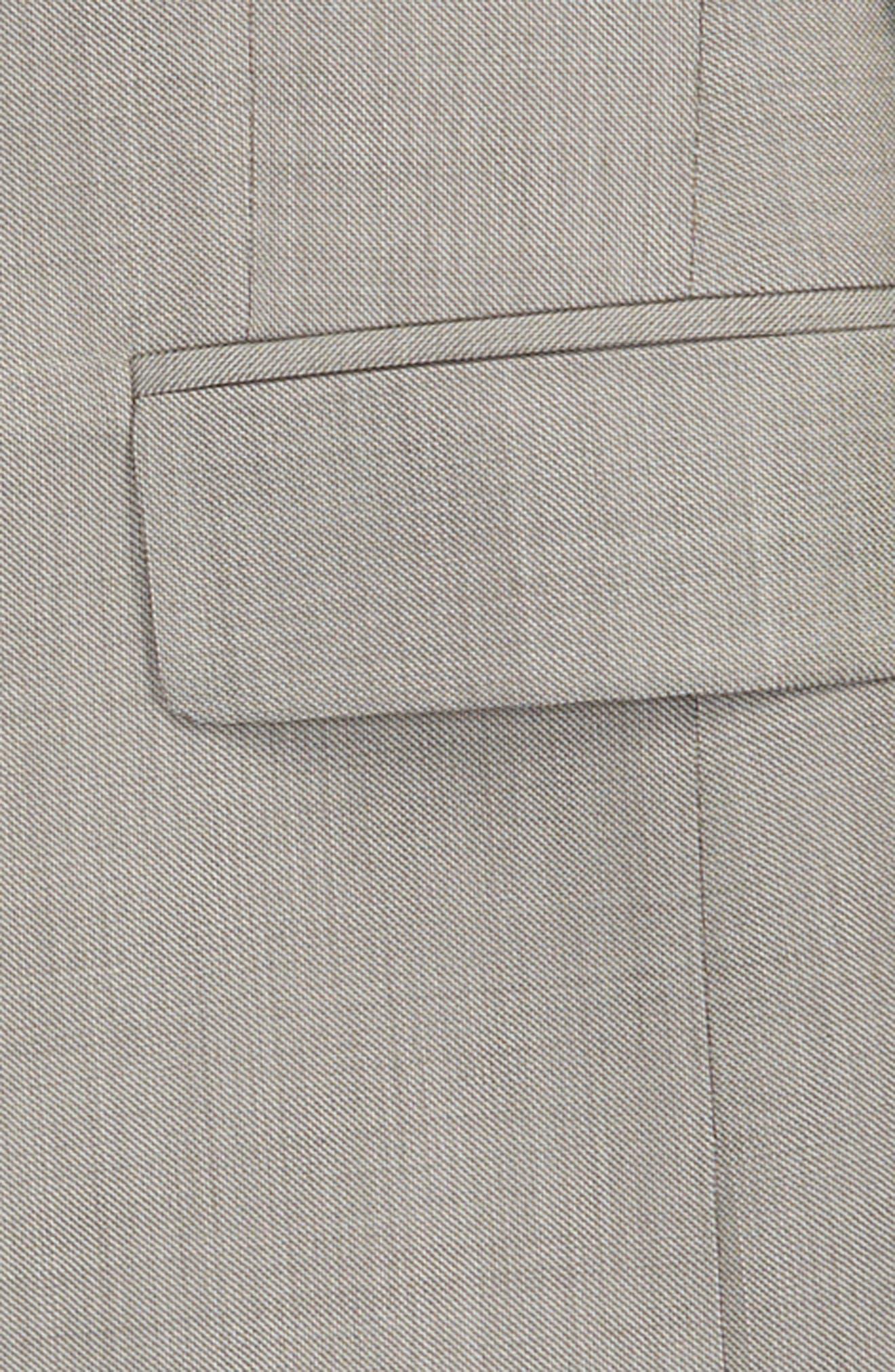 Two-Piece Wool Suit,                             Alternate thumbnail 2, color,                             TAN