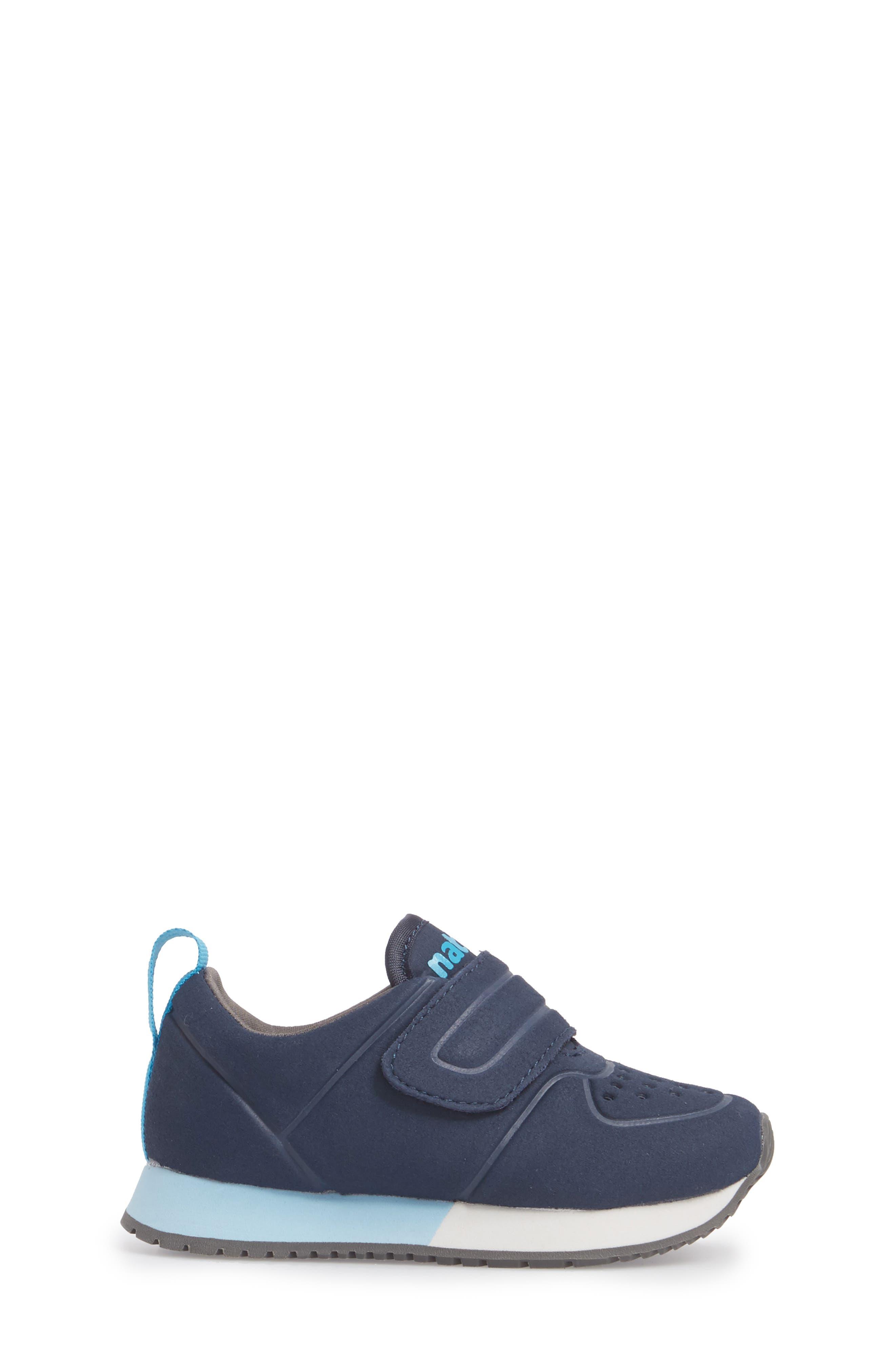 Native Cornell Perforated Sneaker,                             Alternate thumbnail 3, color,                             REGATTA BLUE/ SHELL WHITE