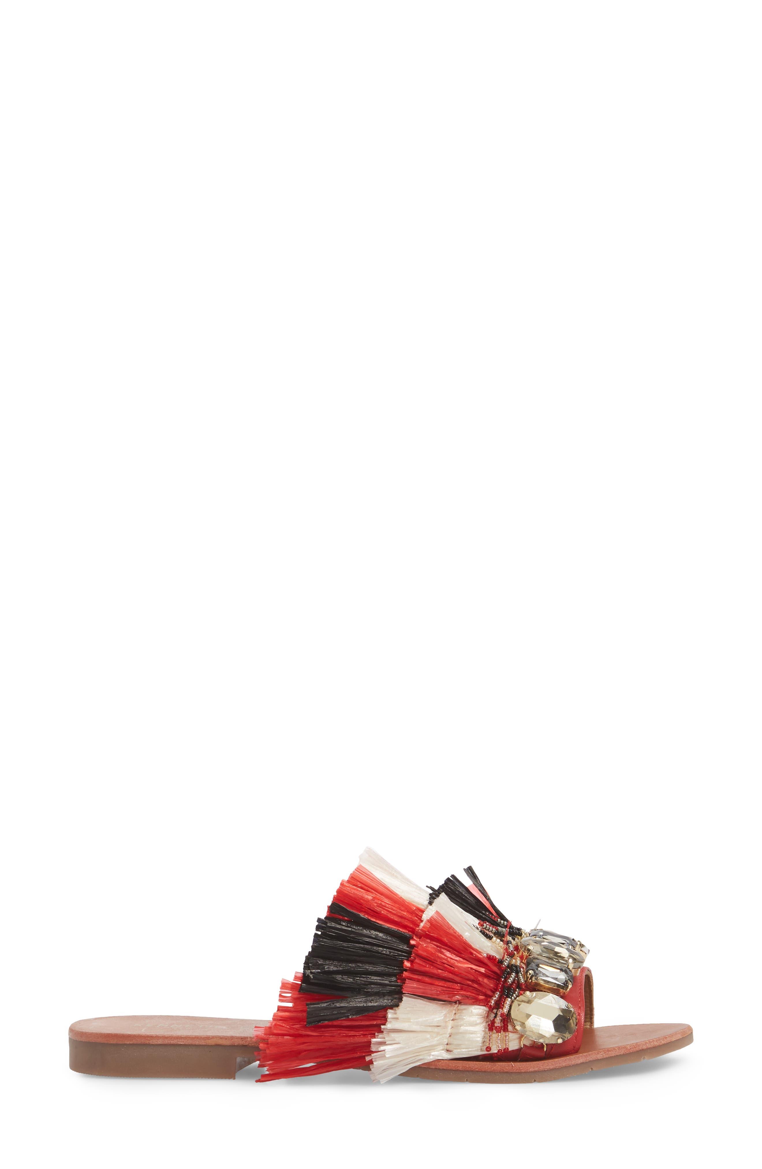 Heron Slide Sandal,                             Alternate thumbnail 6, color,