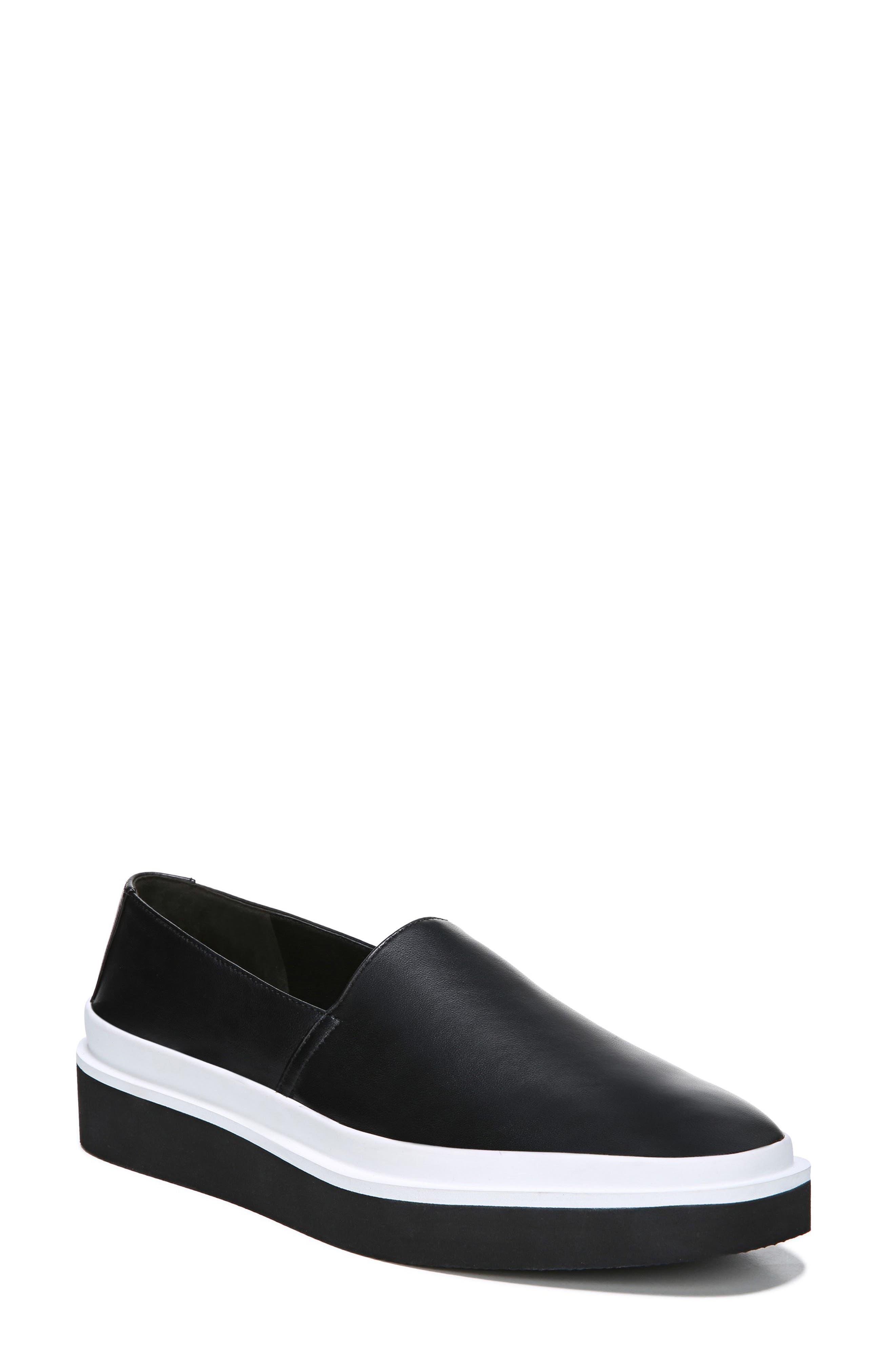 Travis Slip-on Sneaker,                             Main thumbnail 1, color,                             BLACK