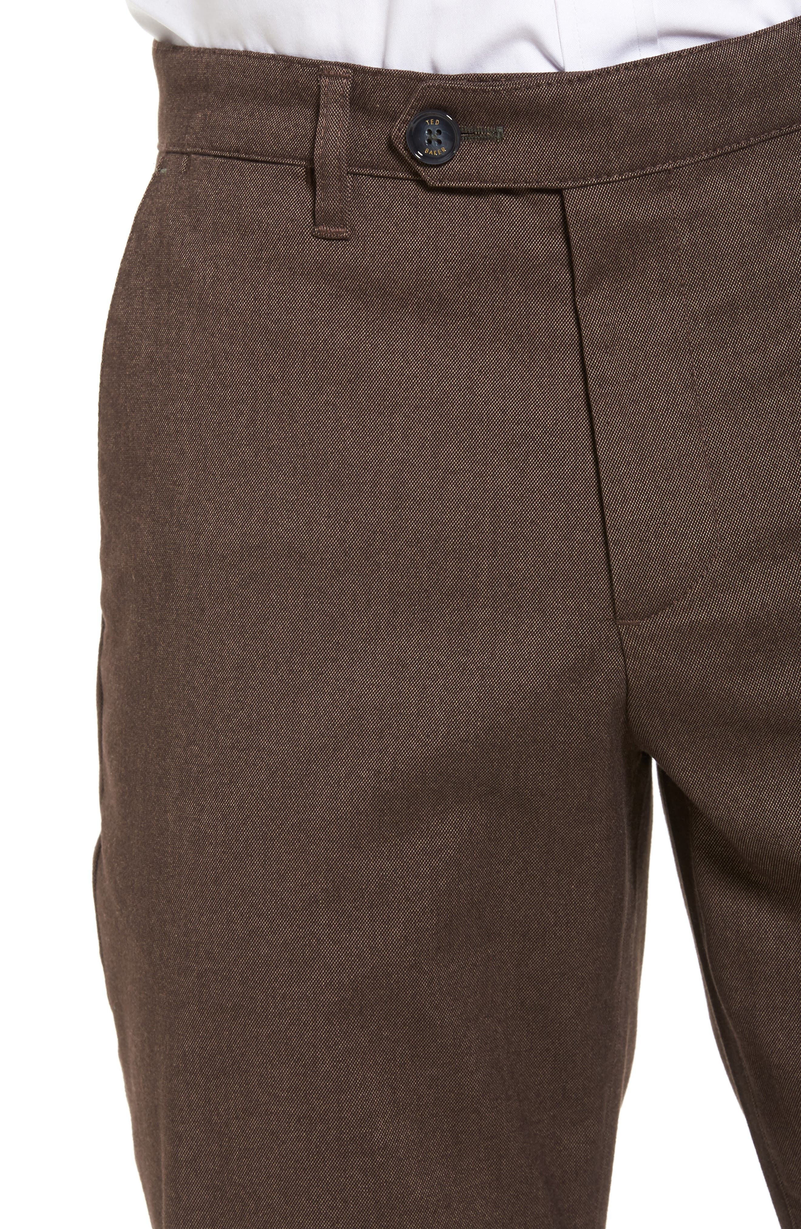 Freshman Modern Fit Brushed Pants,                             Alternate thumbnail 4, color,                             214