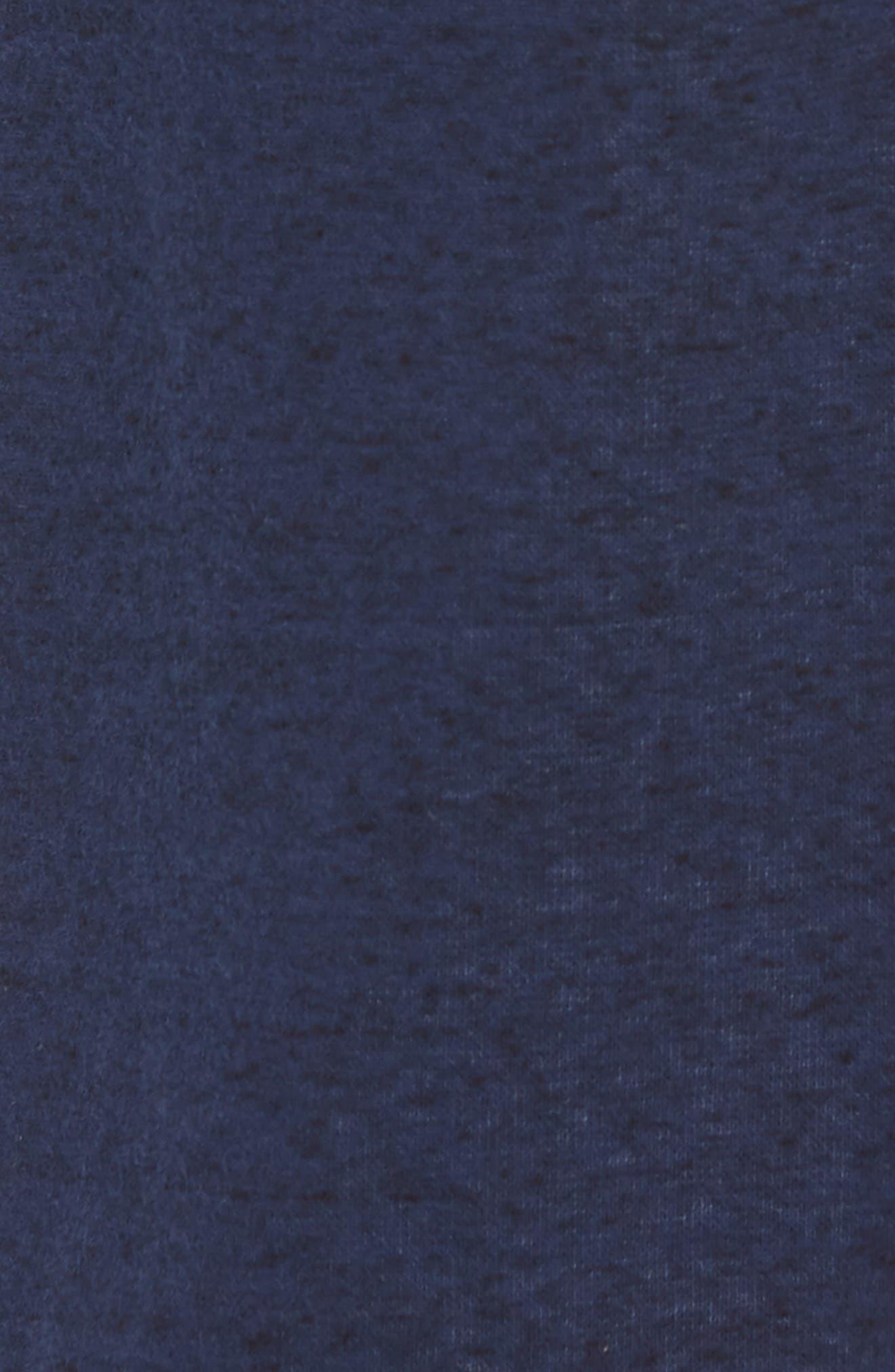 Robinson Robe,                             Alternate thumbnail 5, color,                             NAVY HEATHER
