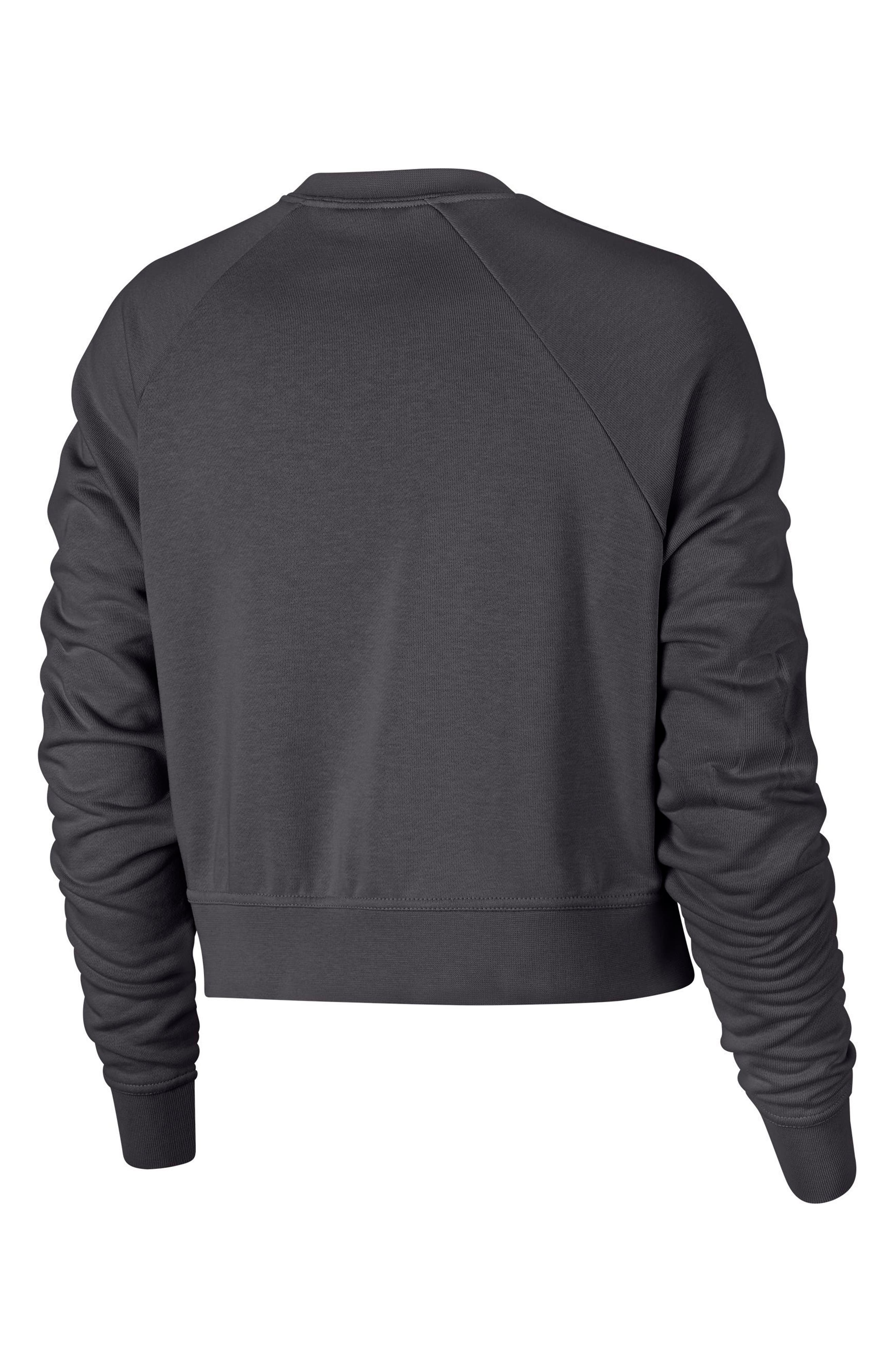 Long Sleeve Crop Training Top,                             Alternate thumbnail 26, color,