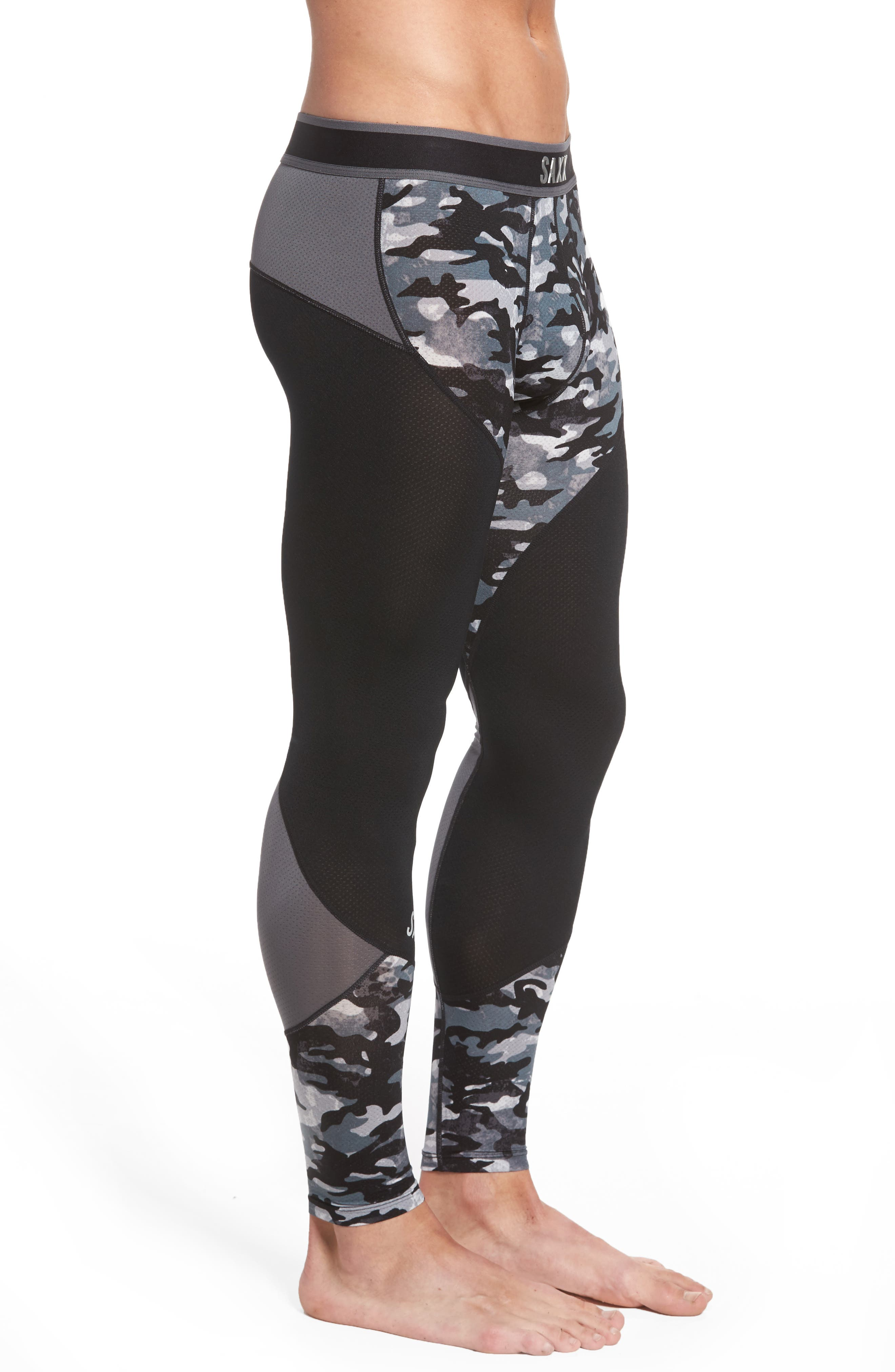 Kinetic Camo Colorblock Athletic Tights,                             Alternate thumbnail 3, color,                             062