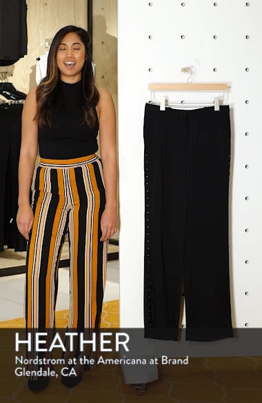 Studded Wide Leg Trousers, sales video thumbnail