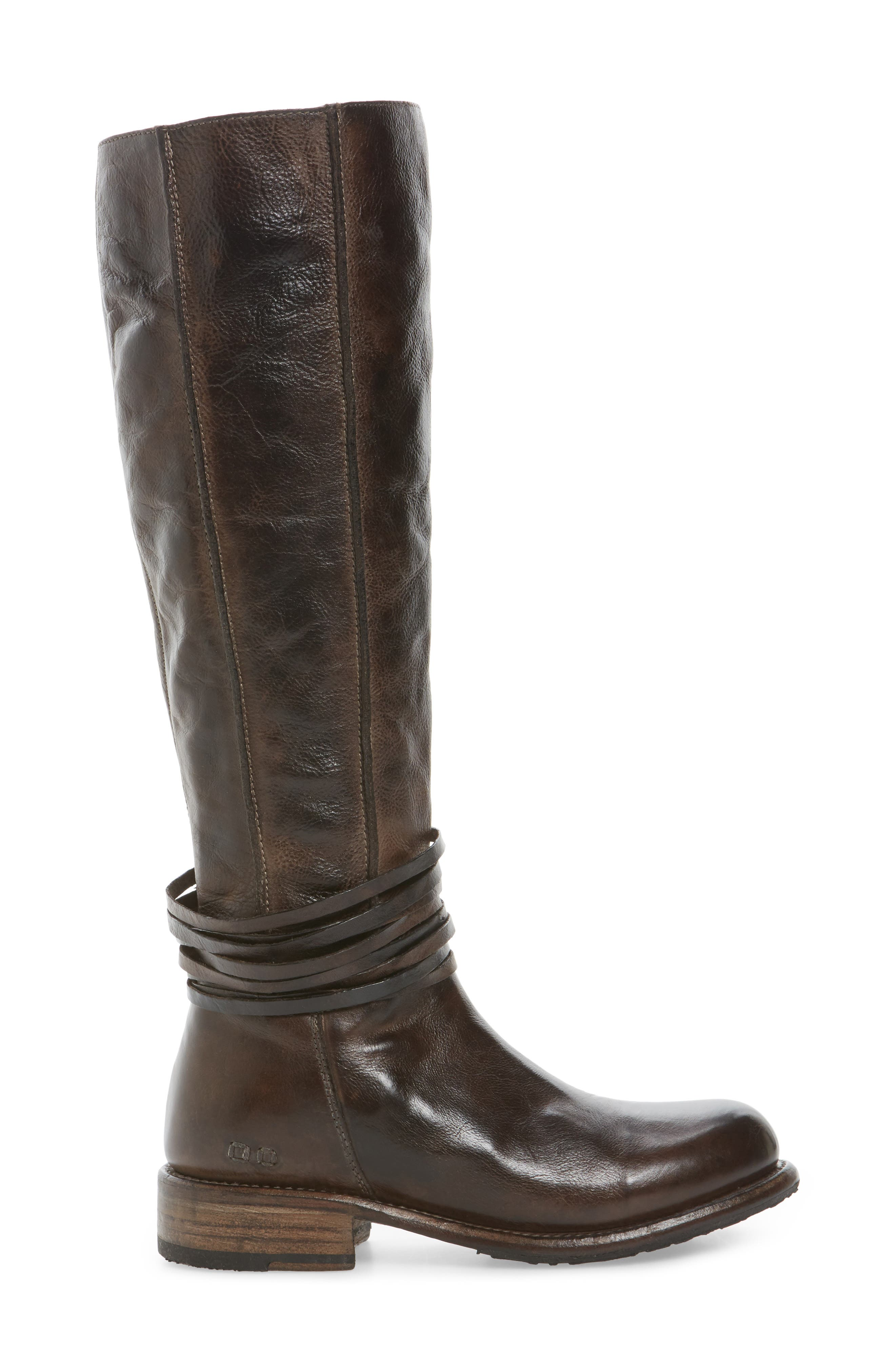 Weymouth Knee High Boot,                             Alternate thumbnail 3, color,                             200
