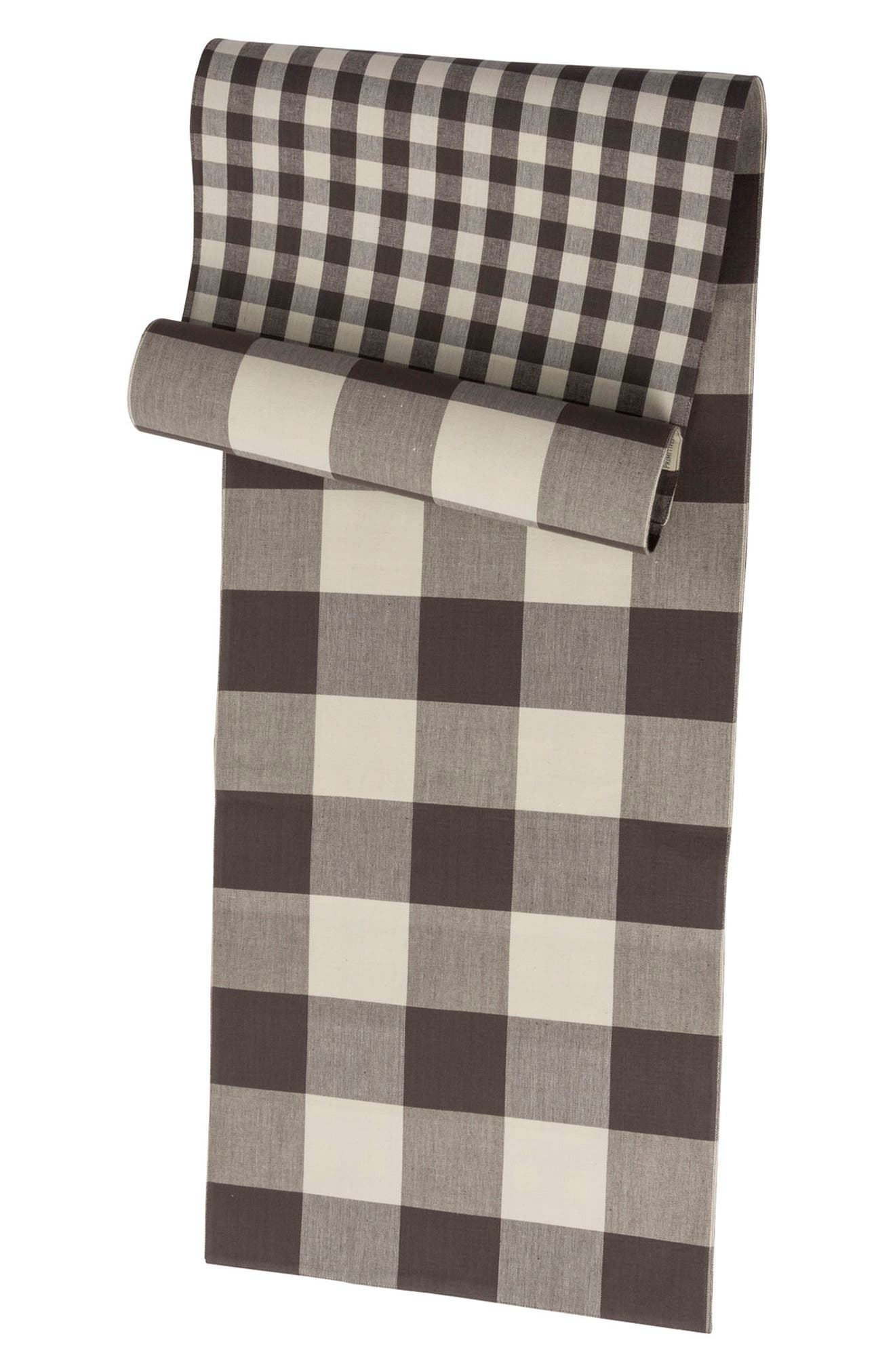 Buffalo Check Table Runner,                             Alternate thumbnail 2, color,                             020