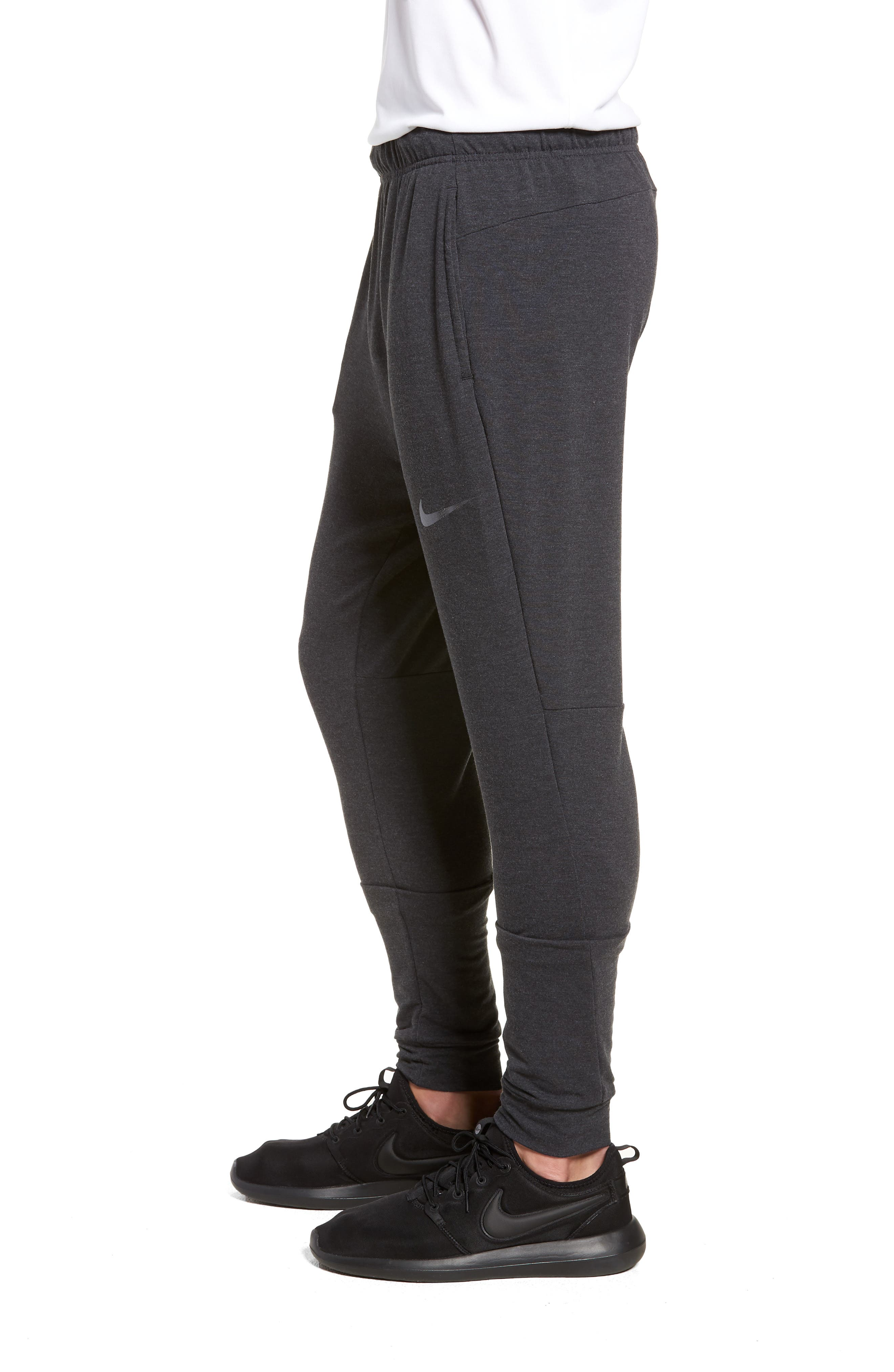Dry Training Pants,                             Alternate thumbnail 3, color,                             BLACK/ WHITE/ HEMATITE