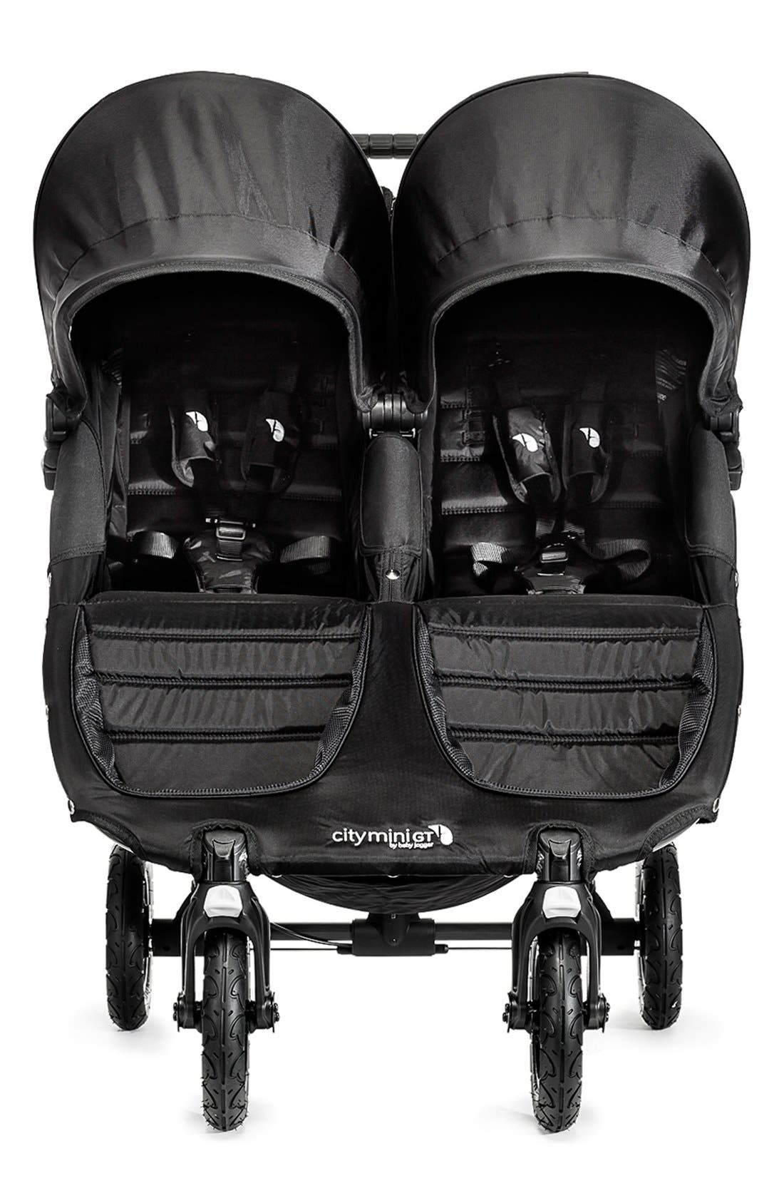 'City Mini GT<sup>™</sup>' Double Stroller,                             Alternate thumbnail 6, color,                             001