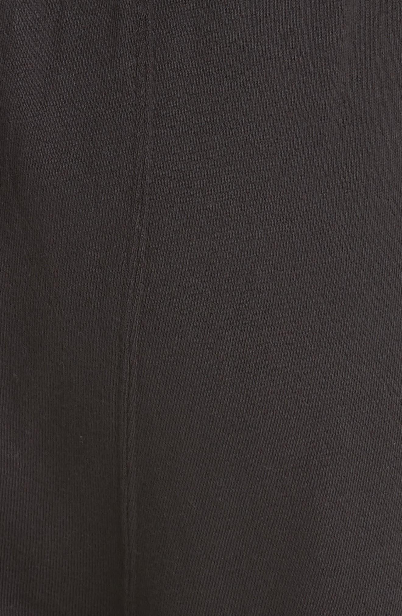 The Pajama Sweatpants,                             Alternate thumbnail 5, color,                             ALMOST BLACK