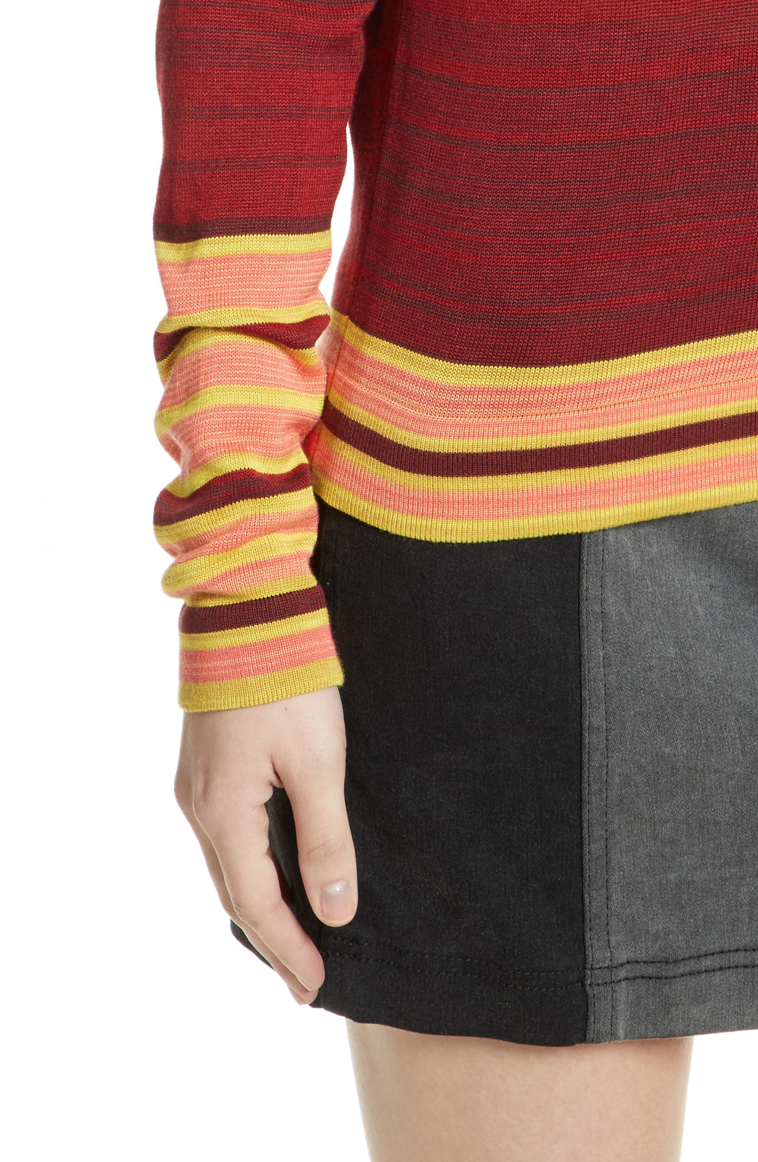 Show Off Your Stripes Sweater,                             Alternate thumbnail 4, color,                             300