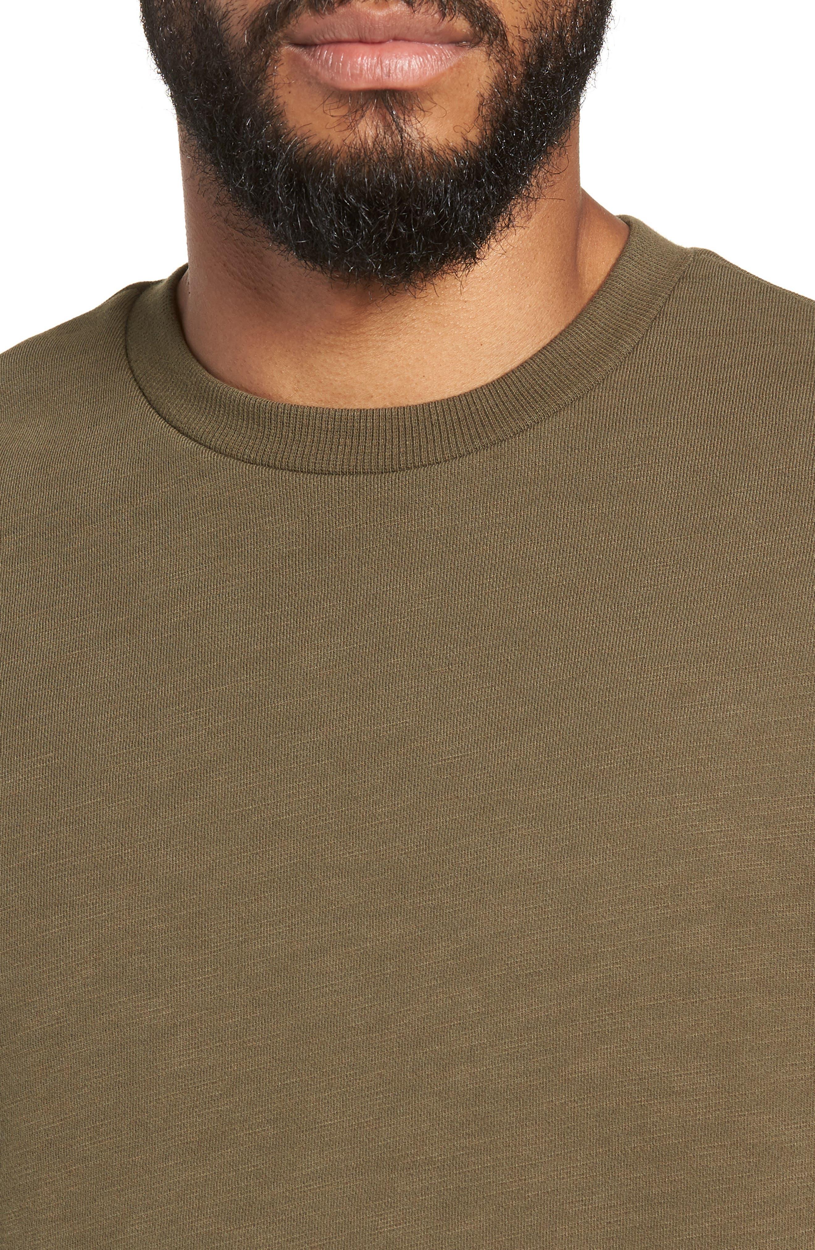 Crewneck Sweatshirt,                             Alternate thumbnail 4, color,                             319