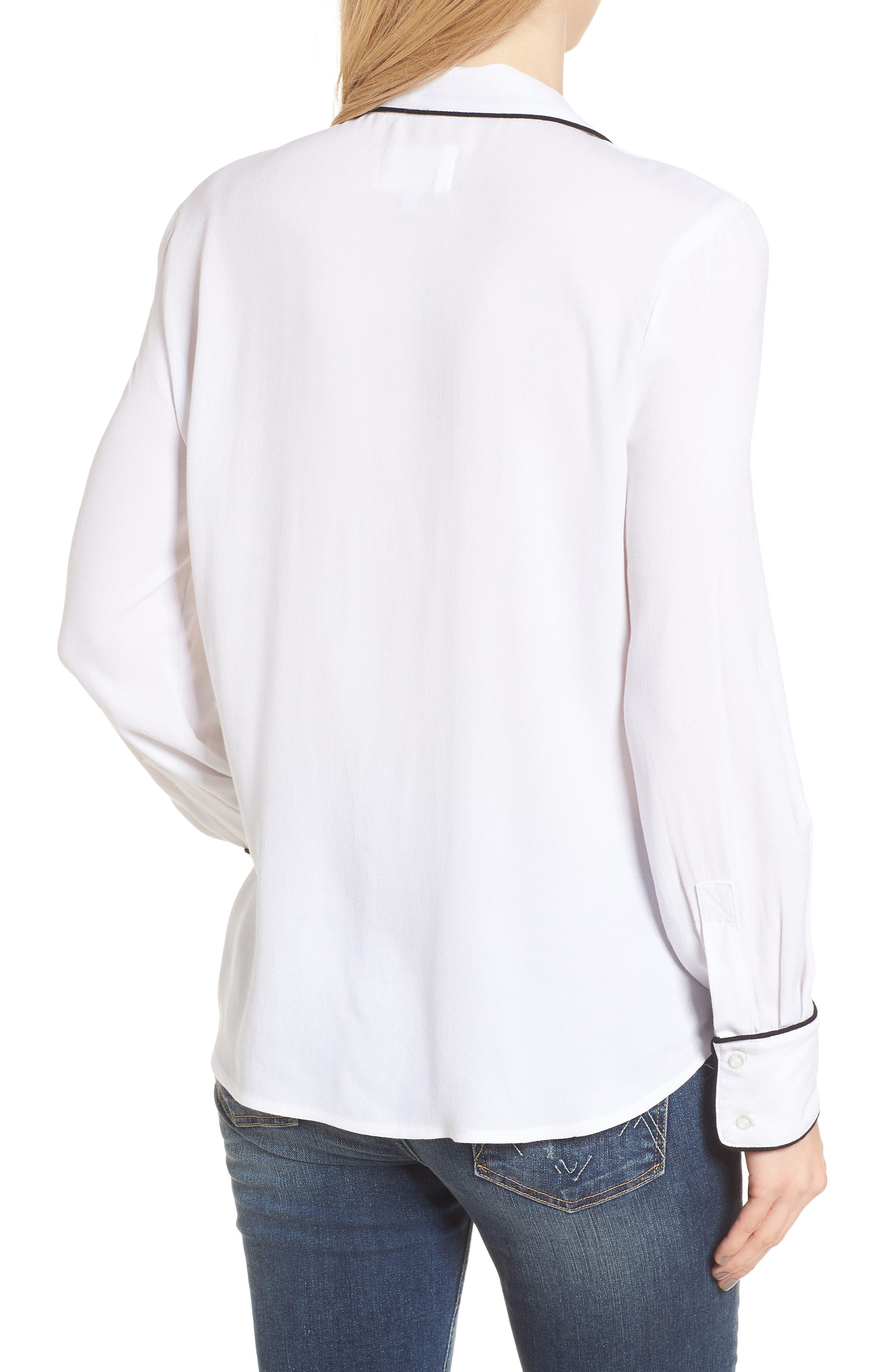 Rossi Pajama Top,                             Alternate thumbnail 2, color,                             100
